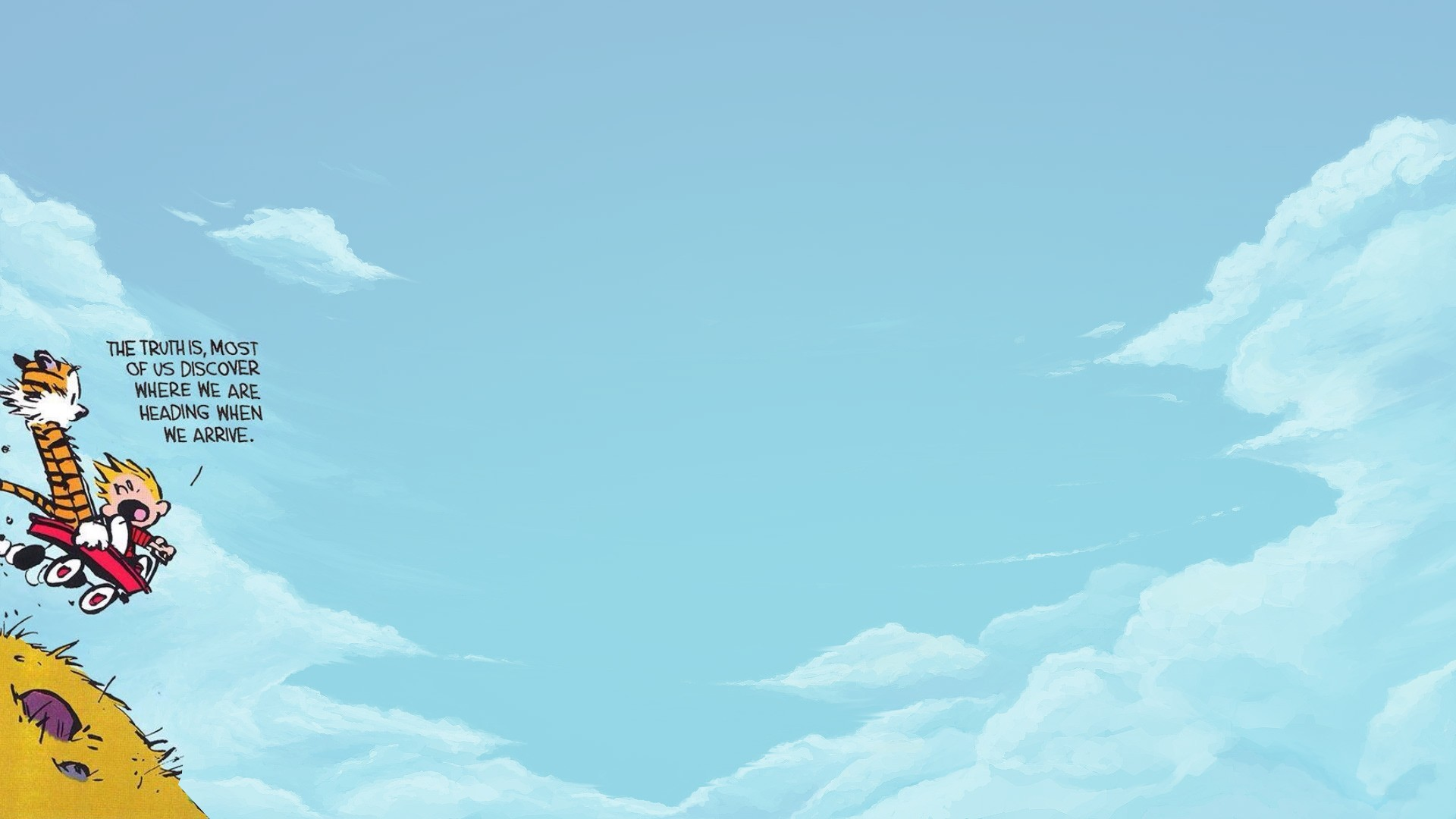 Calvin And Hobbes Wallpaper ·① Download Free HD