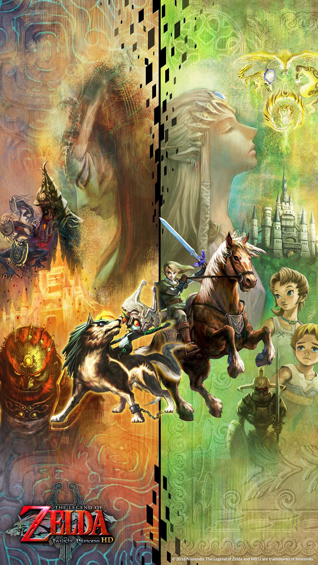 The Legend of Zelda Twilight Princess Wallpaper ·① ...