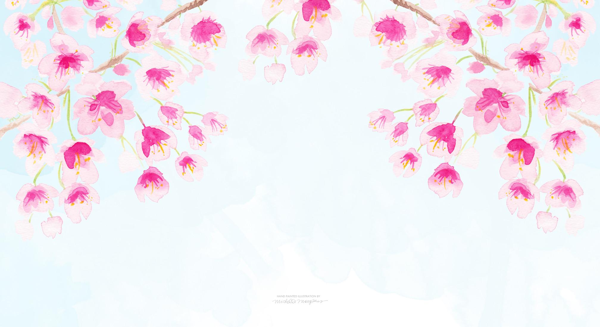 Bright Floral Wallpaper Phone