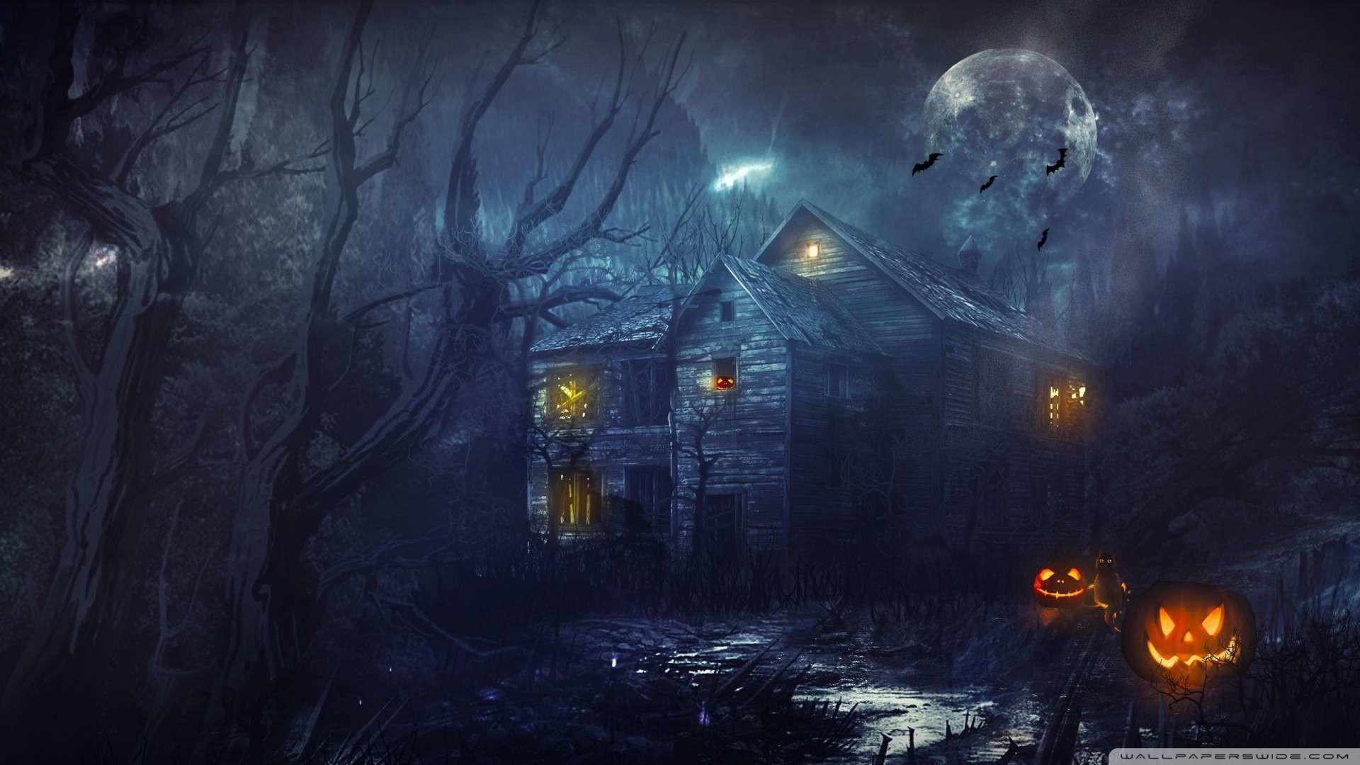 Scary Halloween Wallpaper HD 1