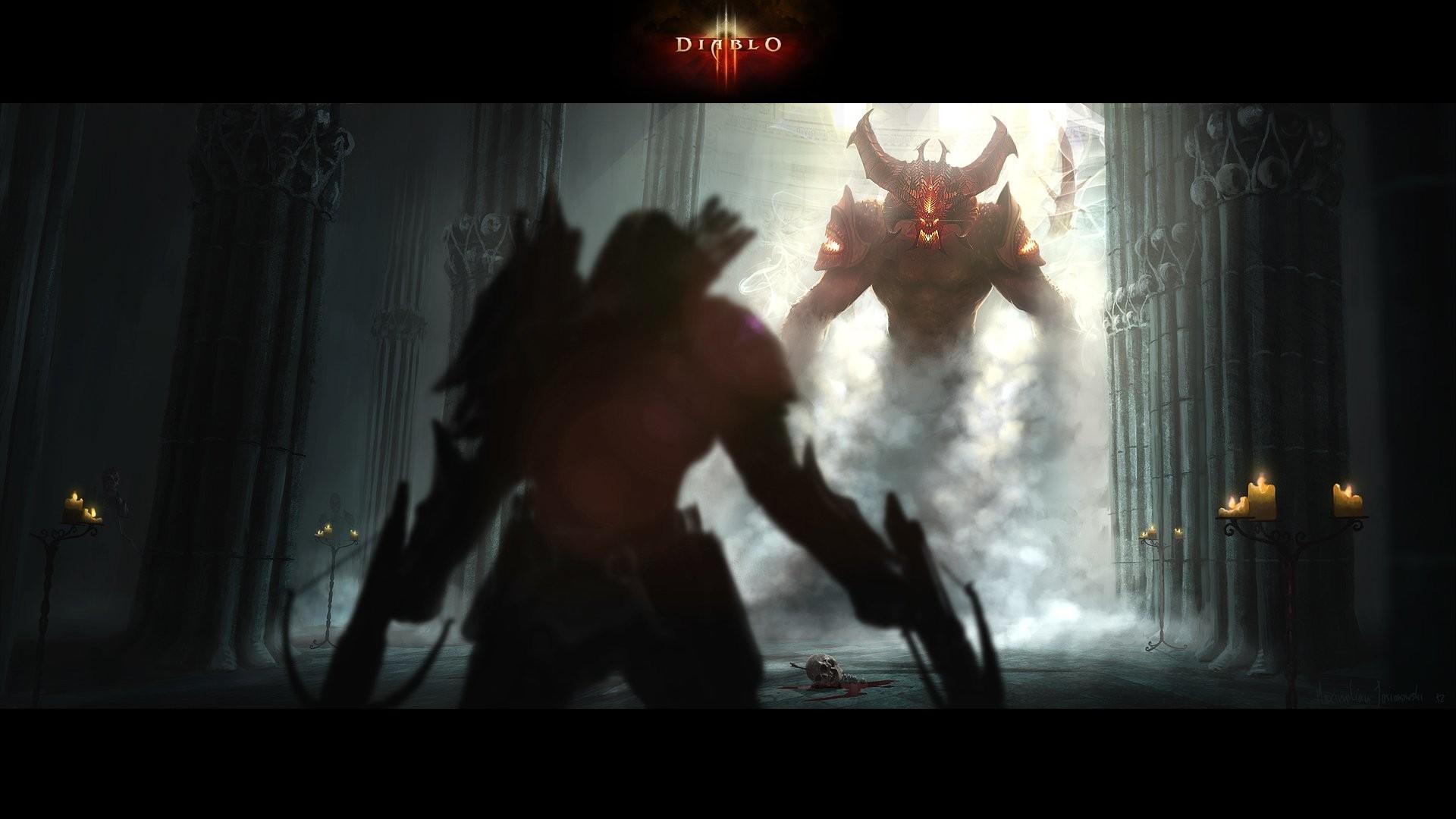 Demon Hunter Diablo 3  № 1892497  скачать