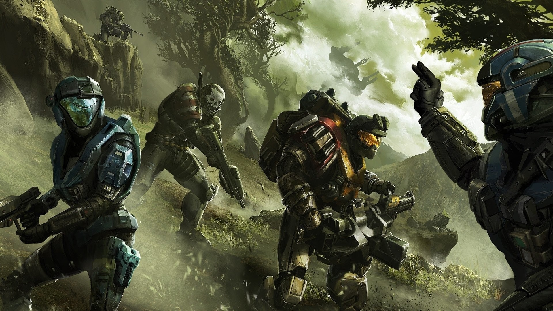 Halo Reach Backgrounds Wallpapertag