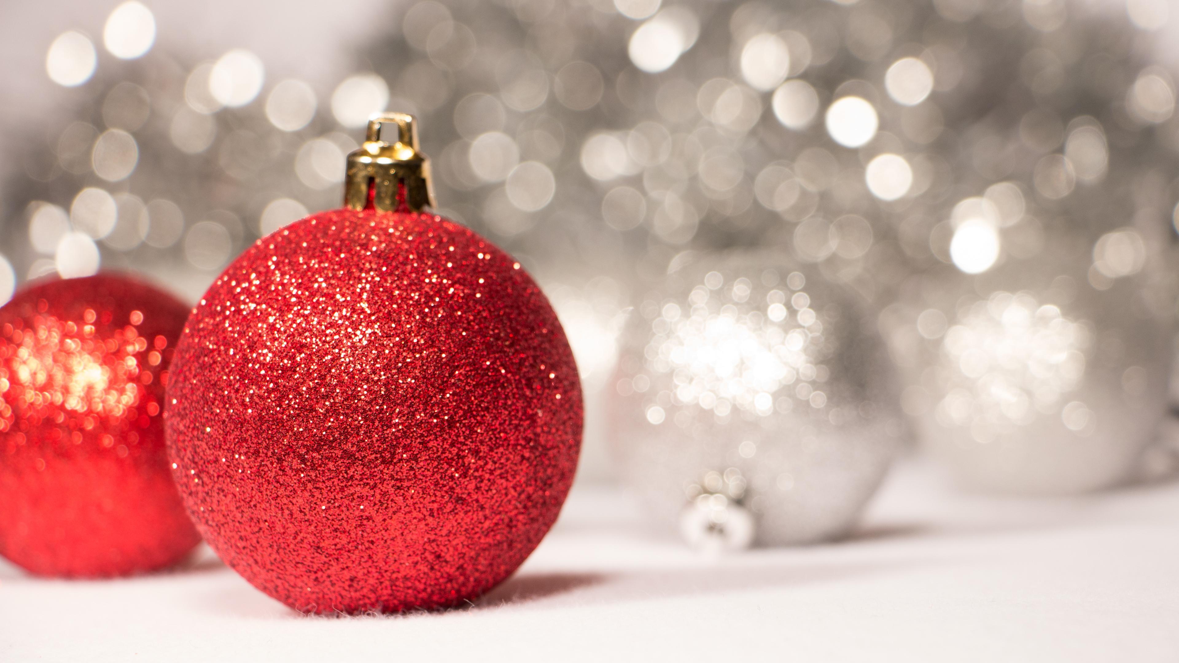 christmas glitter balls images