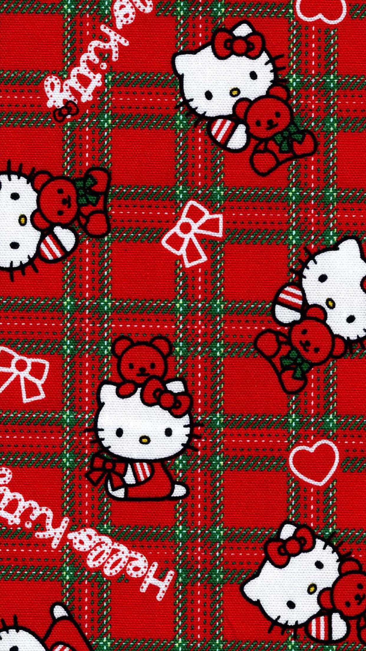 Hello Kitty Christmas Background ①