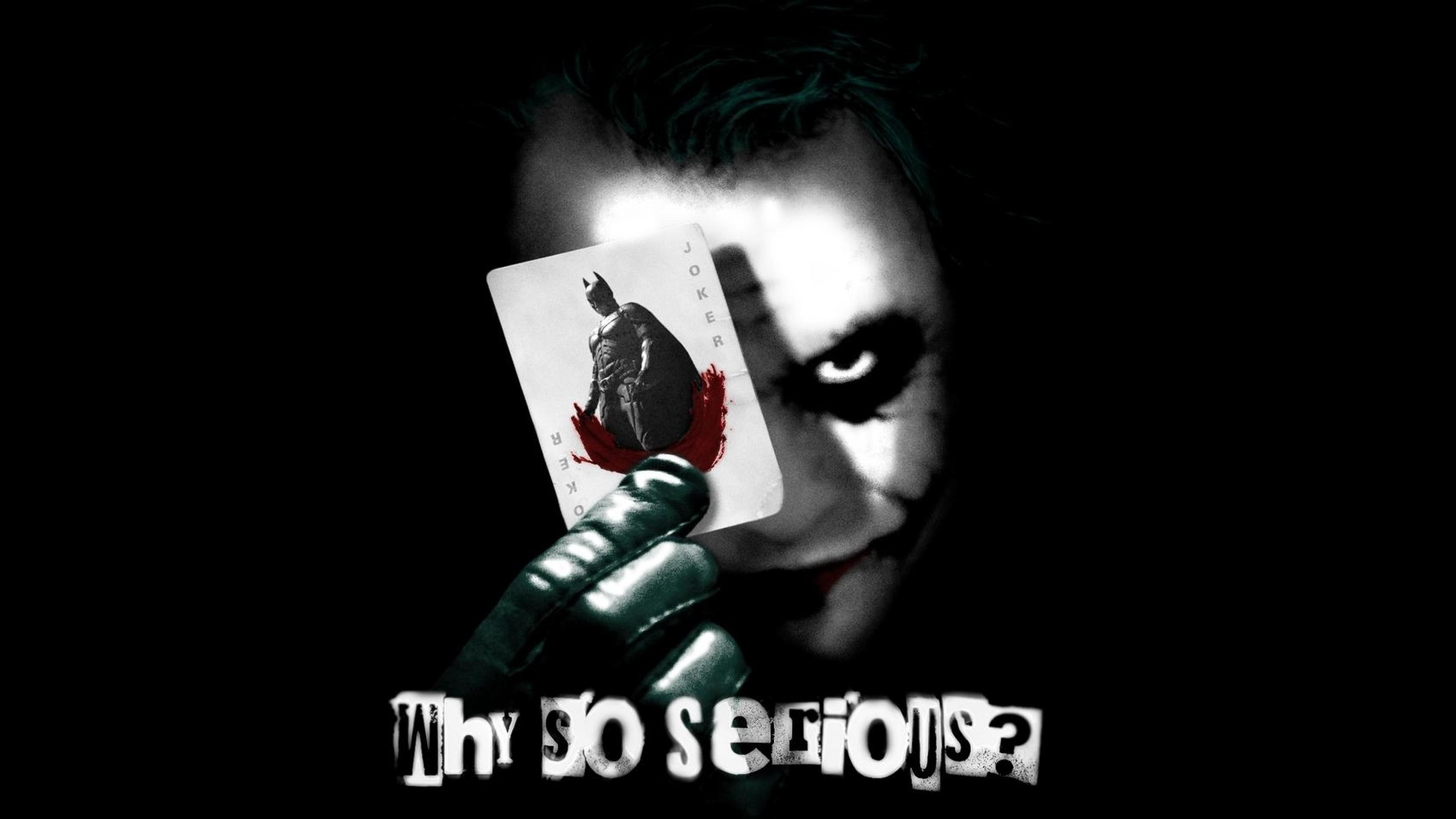 Joker Why So Serious Wallpaper ·① WallpaperTag