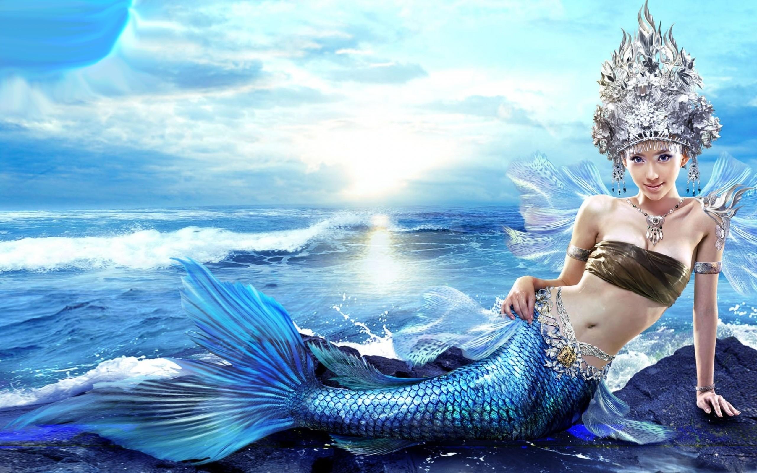 real mermaid wallpaper