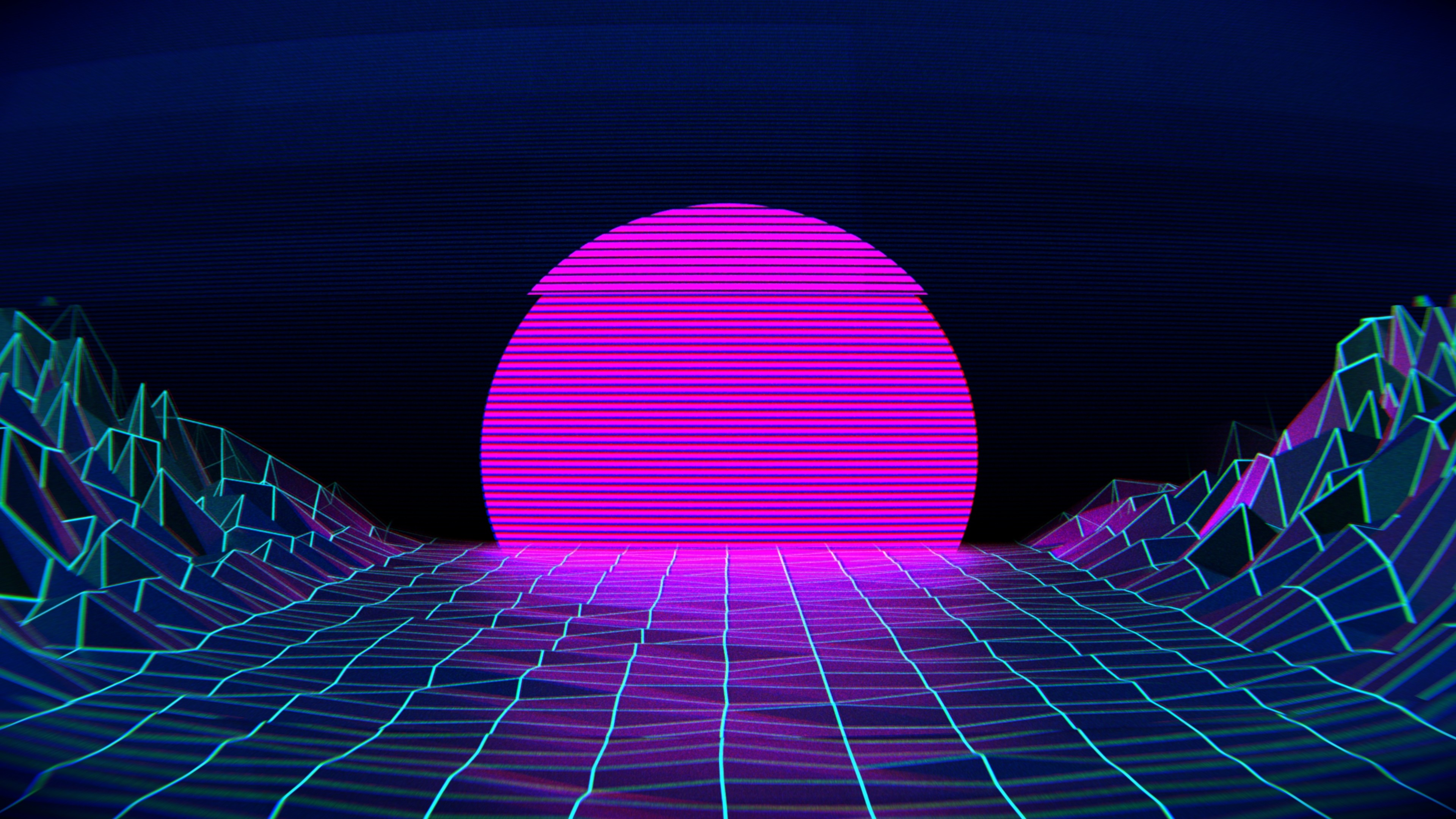 Vaporwave wallpaper download free stunning full hd for Sfondi 2560x1440