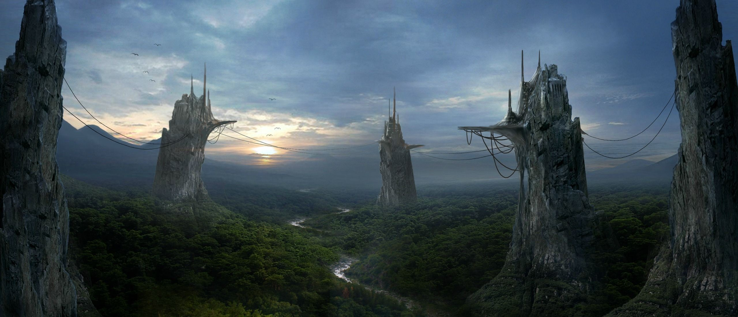 Fantasy castle wallpaper download free awesome wallpapers for desktop mobile laptop in any - Fantasy background ...
