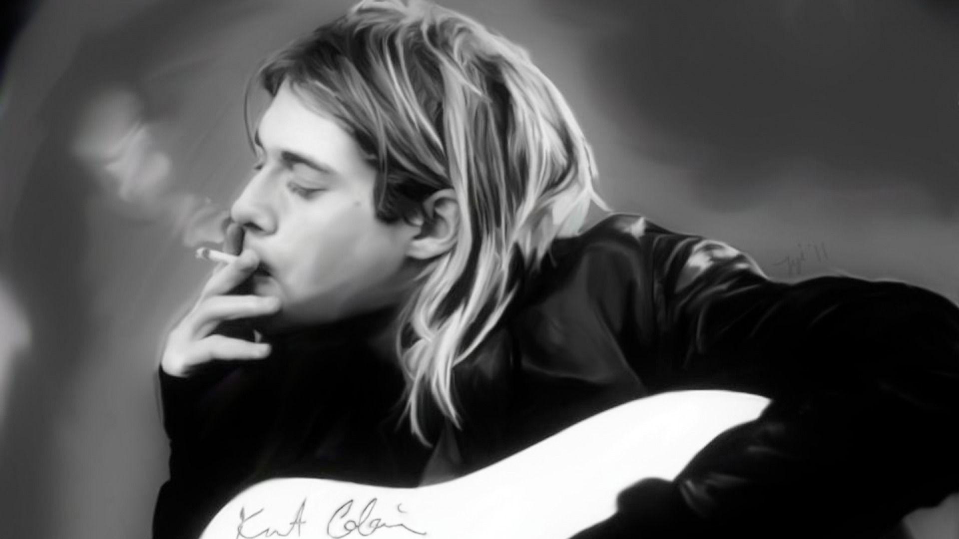 Kurt cobain background wallpapertag - Kurt cobain nirvana wallpaper ...