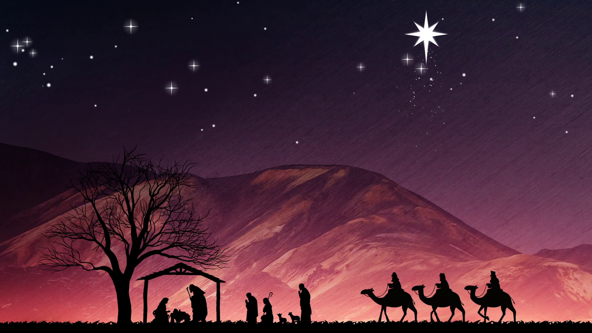 Nativity Scene Wallpaper 183 '�