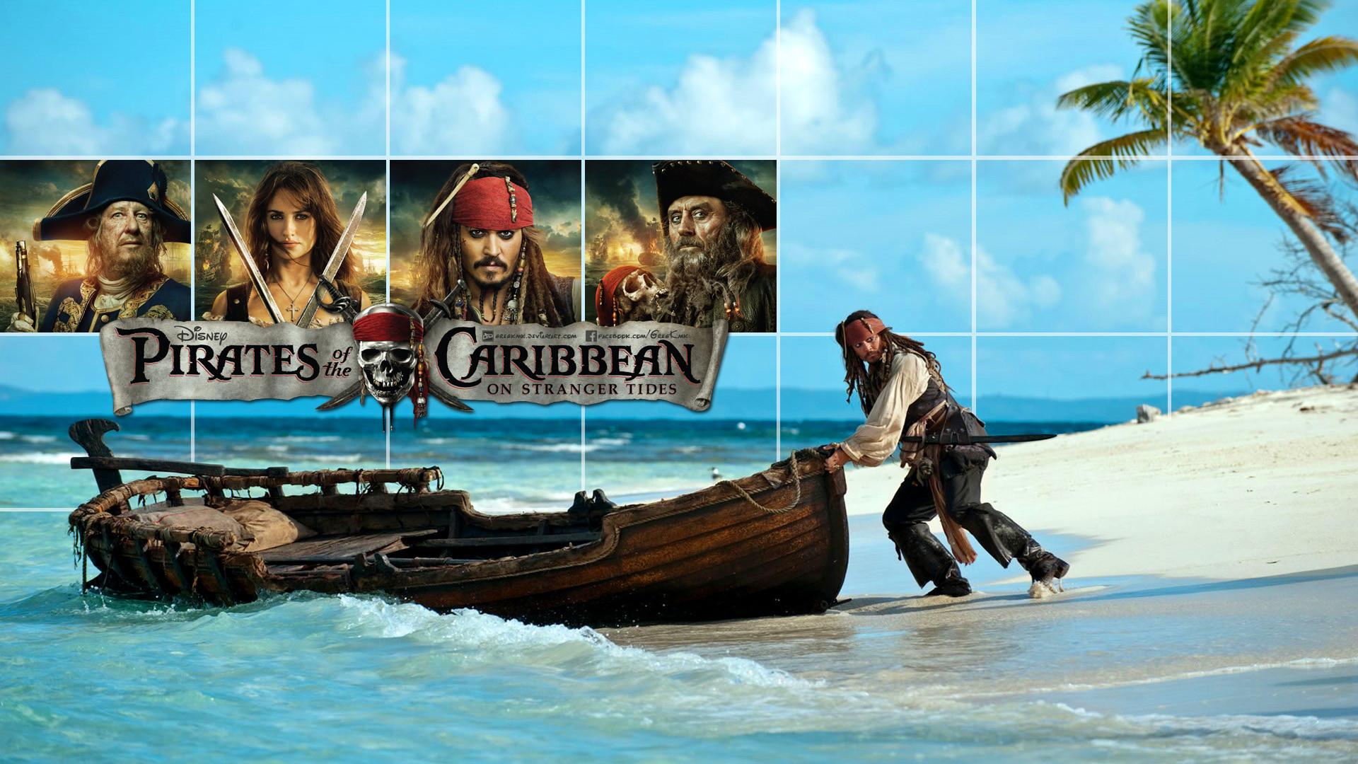 пираты карибского моря джек воробей море природа остров песок лодка вода  № 1386148 загрузить