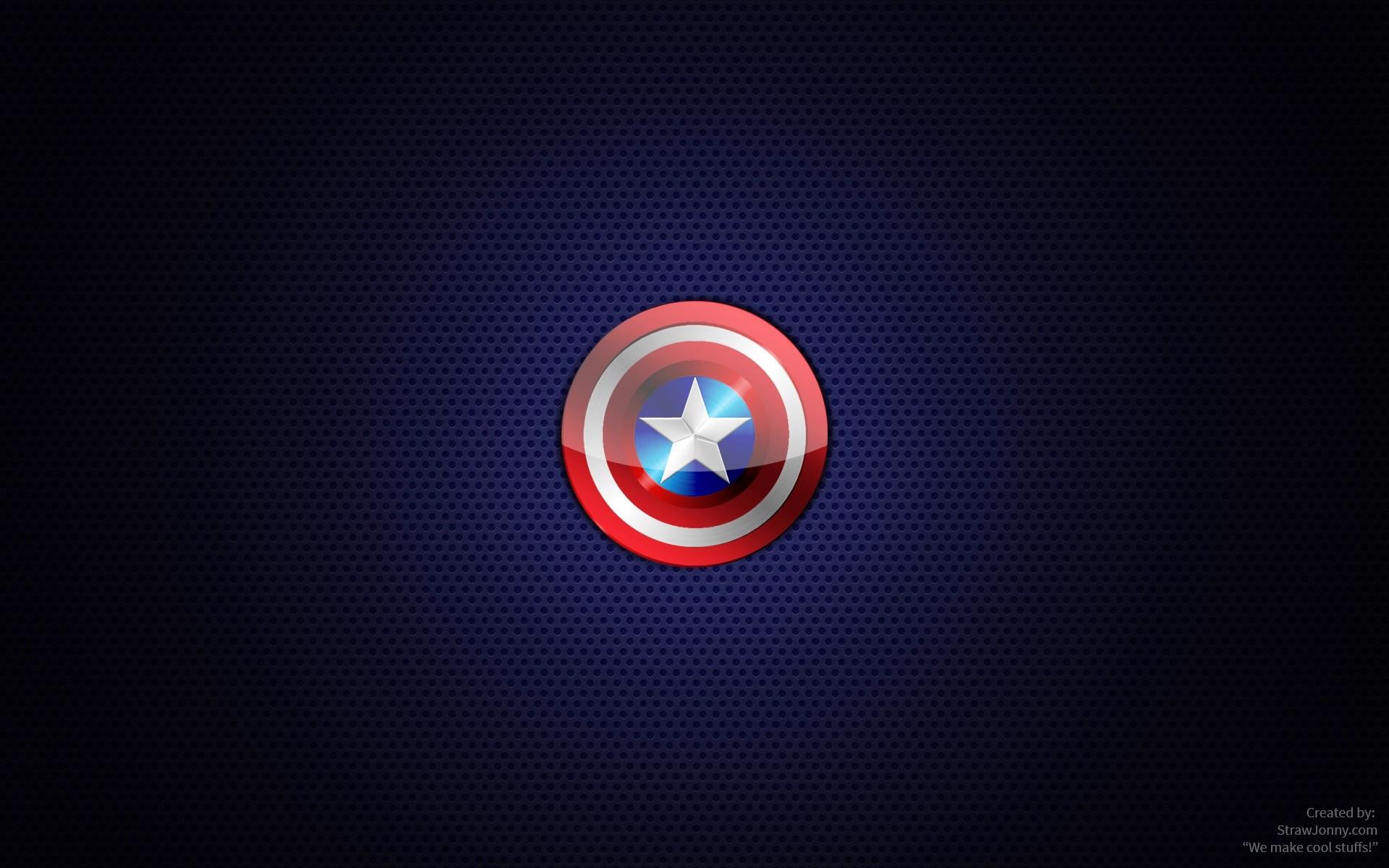 Captain America Logo Wallpapers