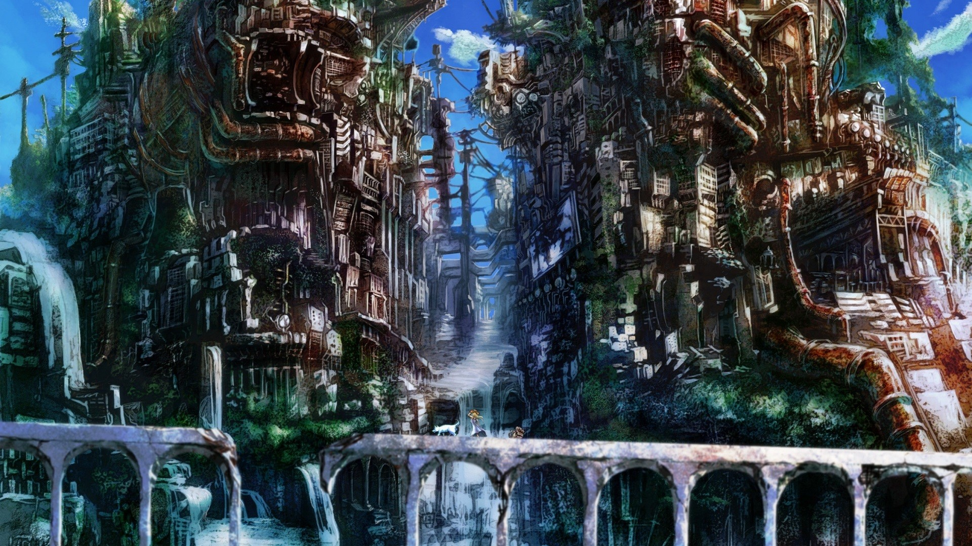 Anime City background ·① Download free amazing backgrounds ...