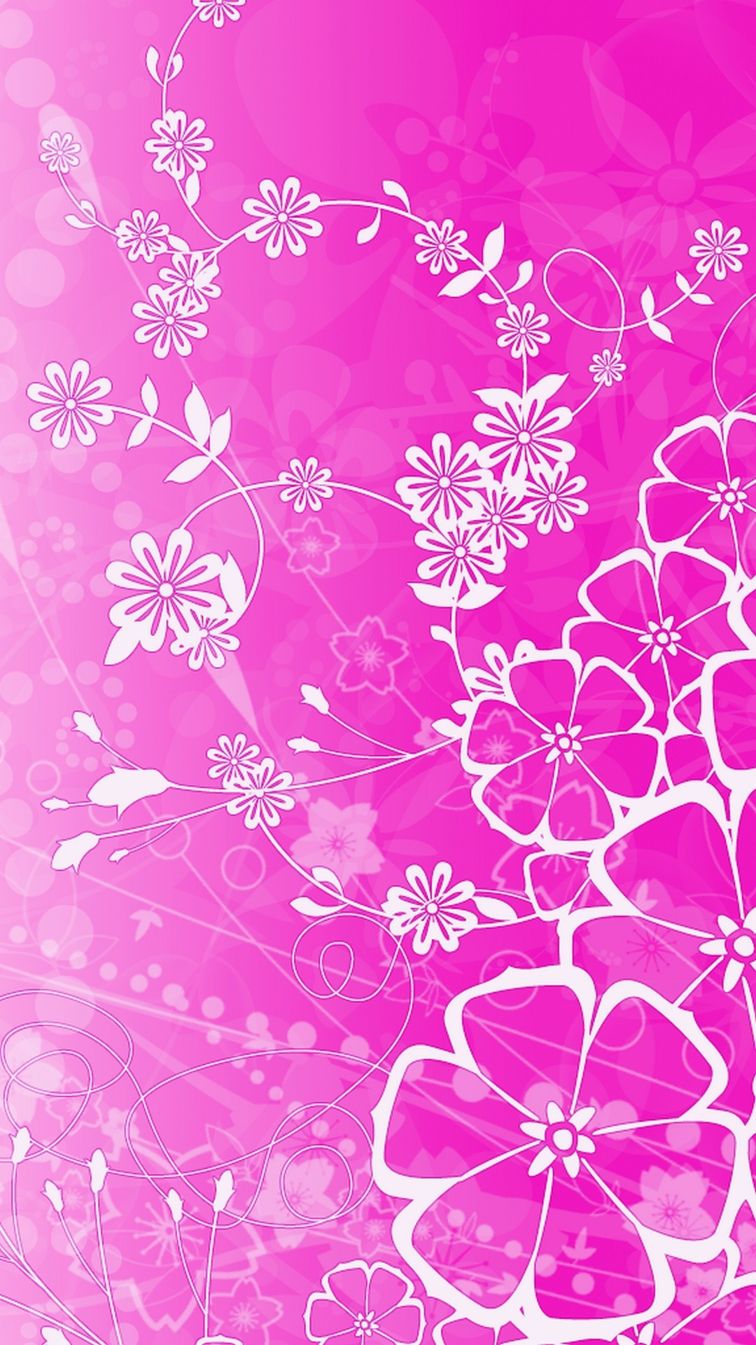 Flower pink background 1080x1920 iphone cute flower pink background resolution 1080x1920 download pretty mightylinksfo Gallery