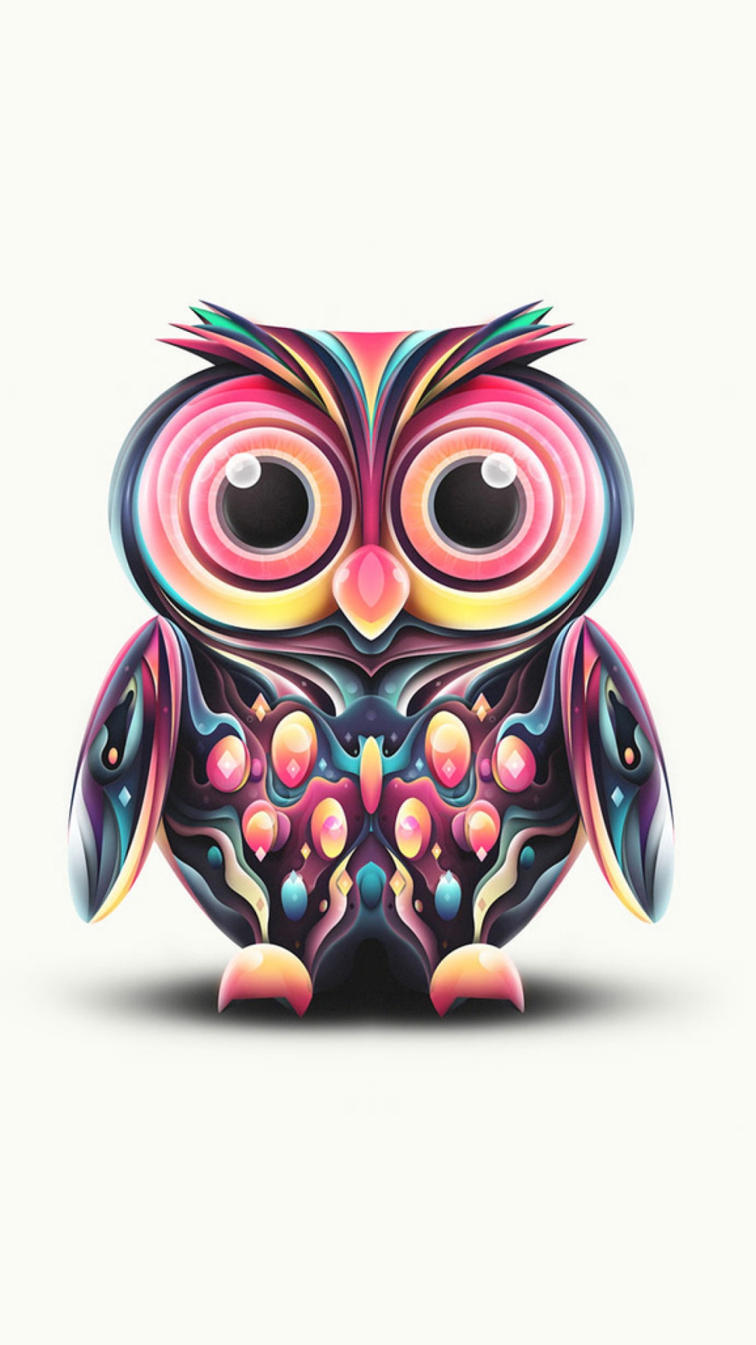 Cute Owl Wallpaper Wallpapertag
