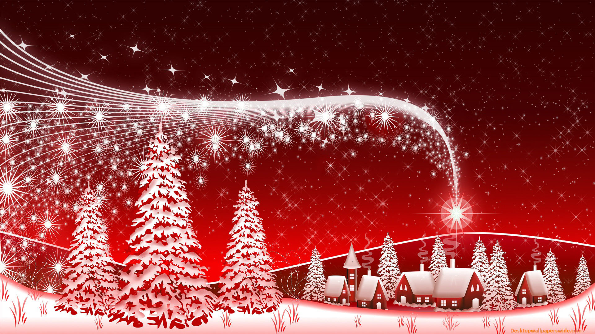 Glitter Christmas Wallpaper
