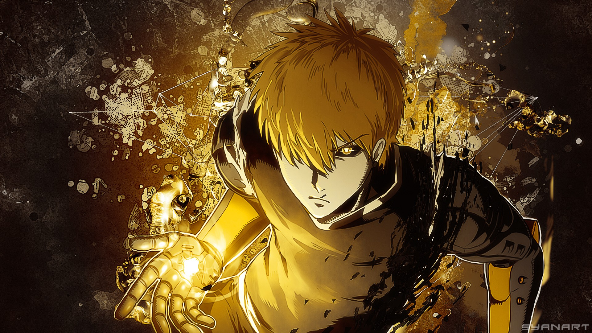 one punch man genos wallpaper 183�� download free backgrounds