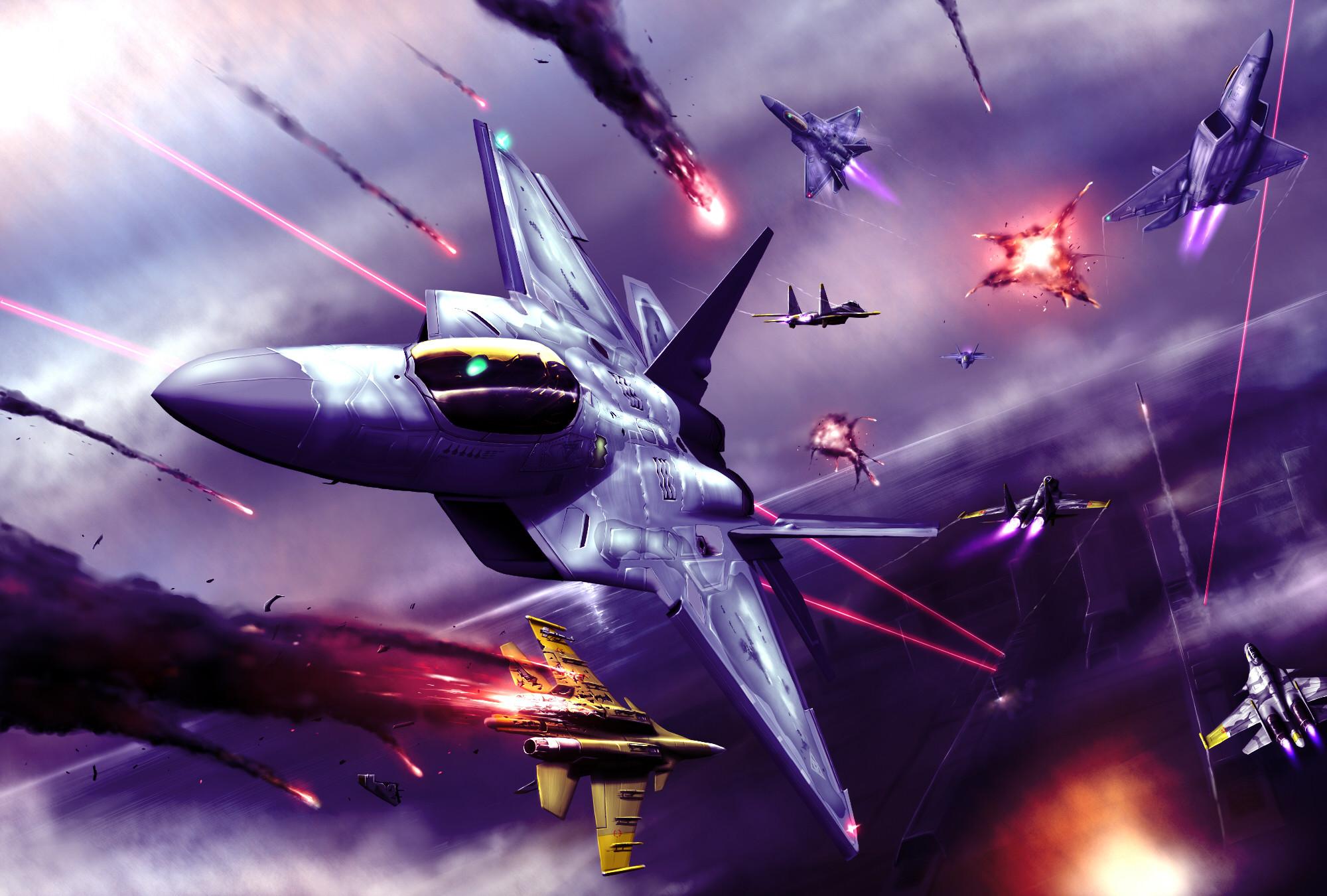 Ace Combat Wallpaper ·①