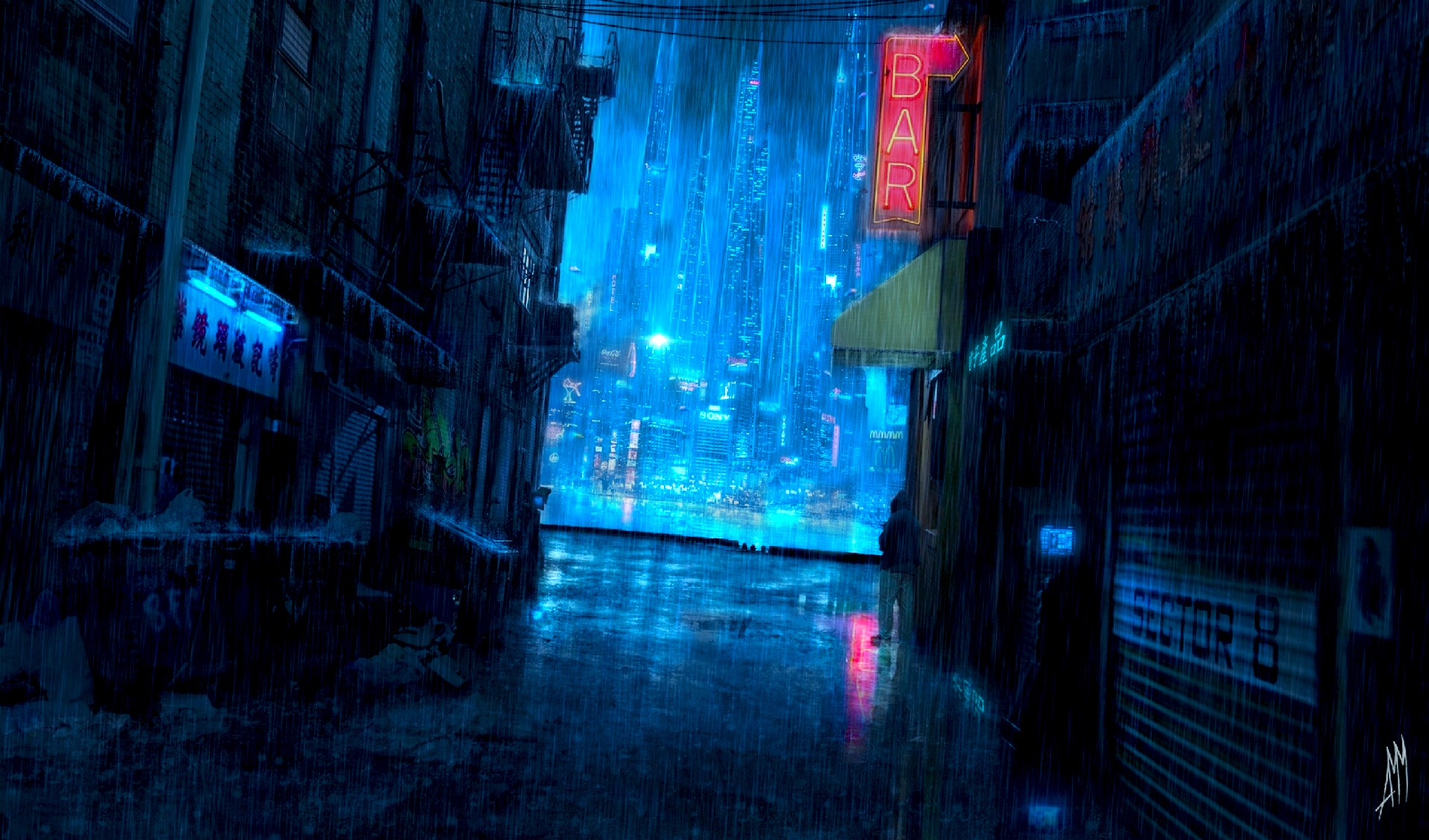 Dark anime scenery wallpaper download free stunning - Anime backgrounds com ...