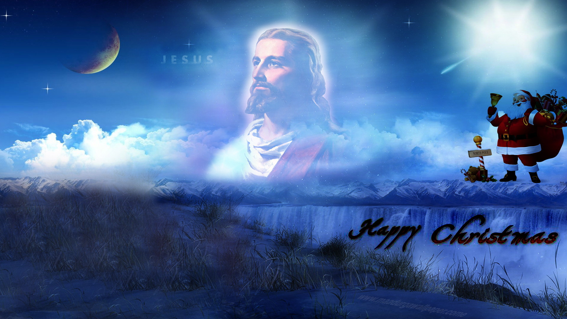 Jesus hd background