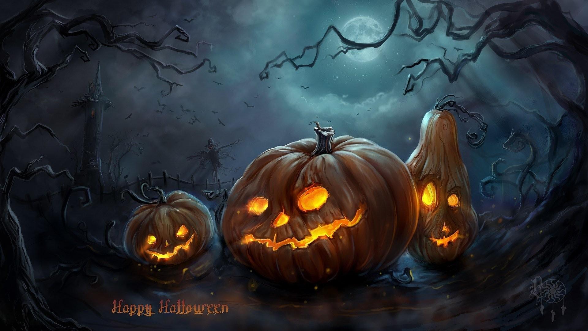 widescreen halloween wallpaper hd 1920x1080