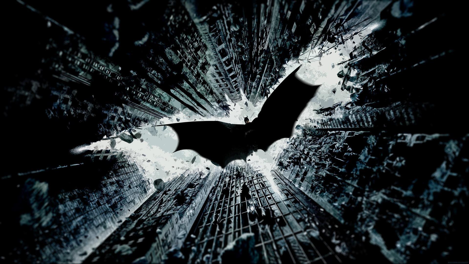Dark Knight Logo Wallpaper Wallpapertag
