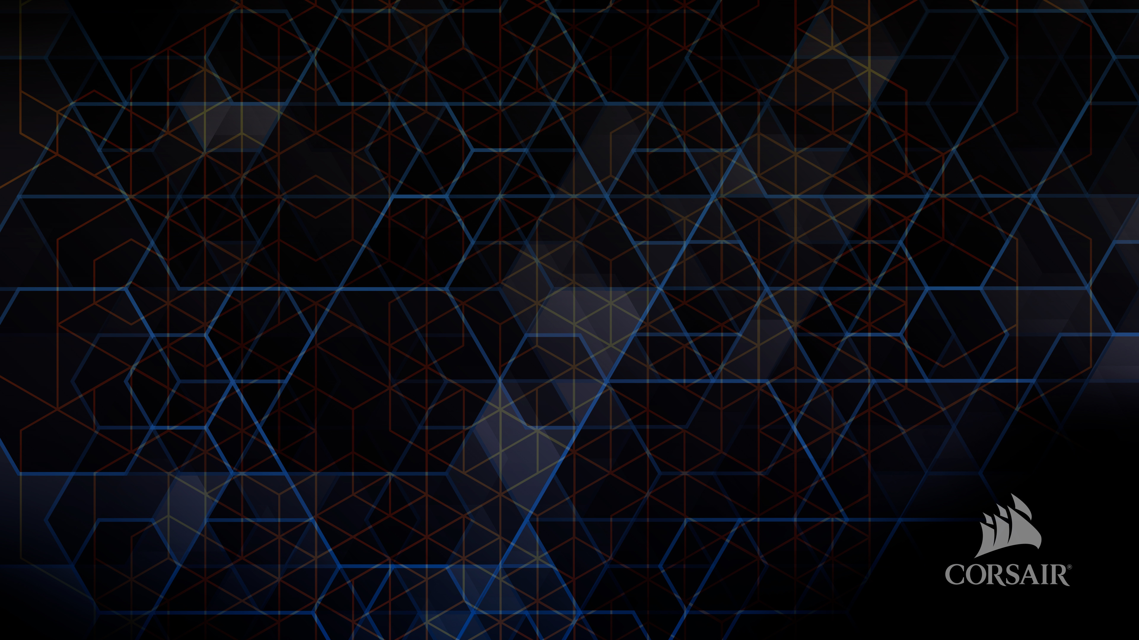 Hex grid wallpaper for Corsair wallpaper 4k