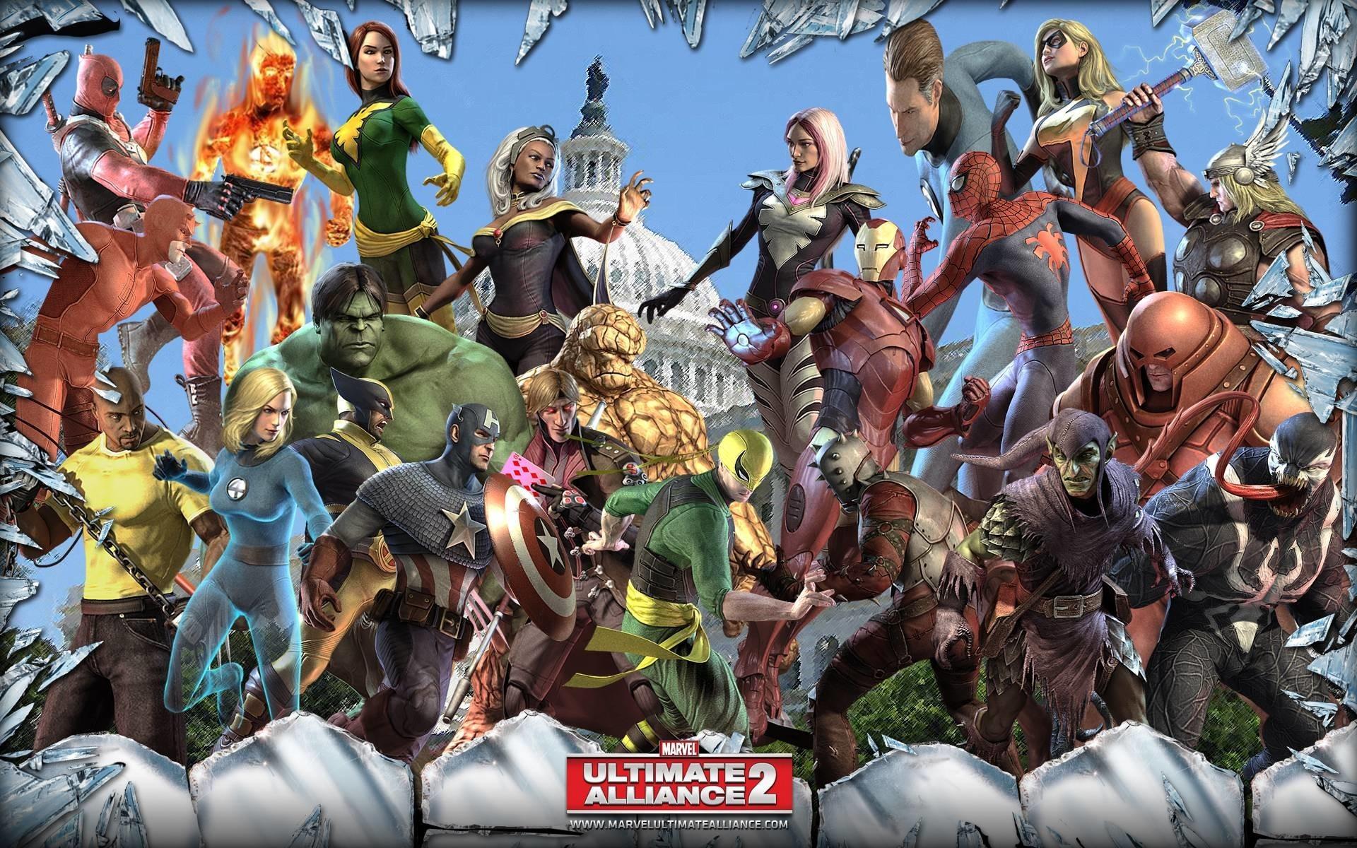Marvel Characters Wallpaper ·① WallpaperTag