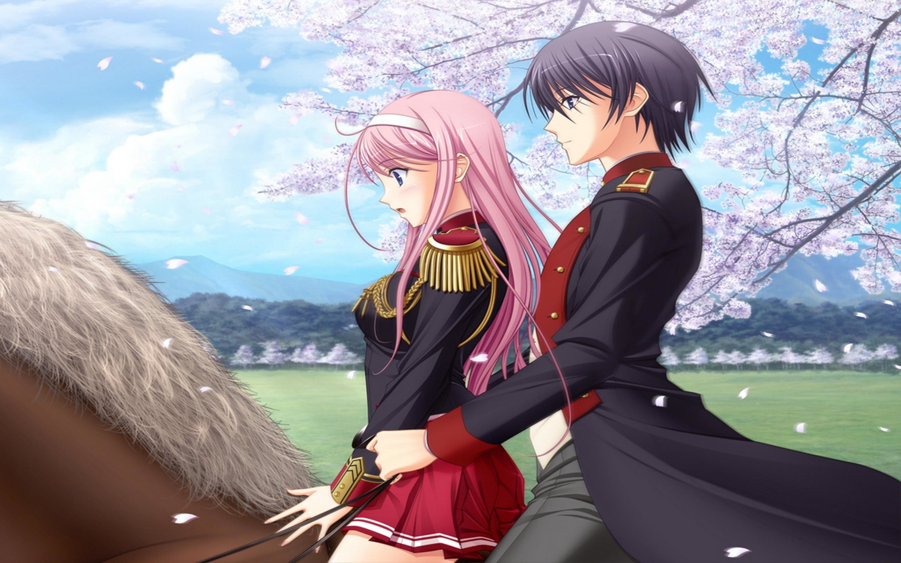 Anime Images Wallpaper Love Couples Couple Hd Wallpaper: Anime Love Wallpapers ·① WallpaperTag