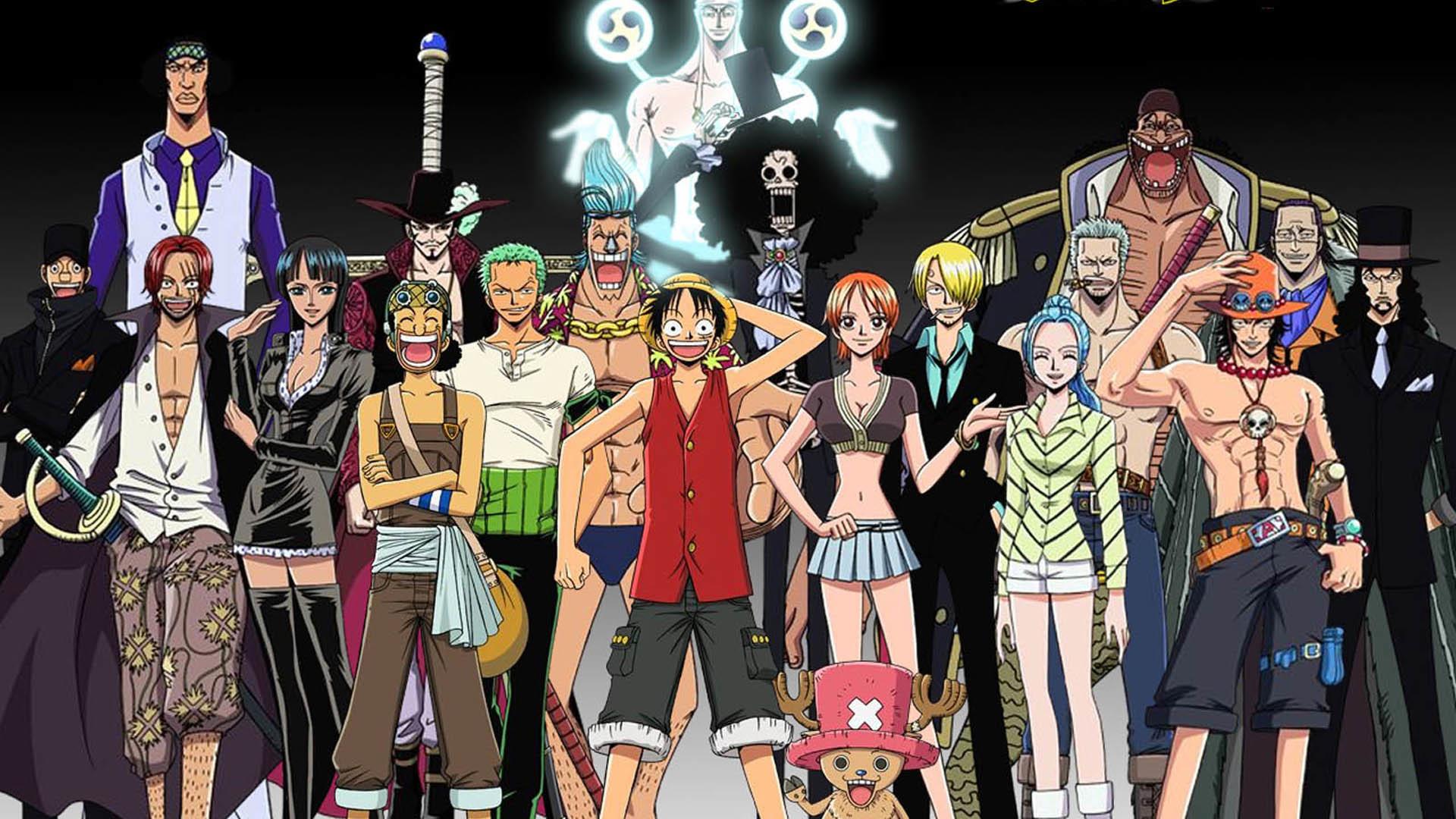 One Piece Crew Desktop Wallpaper