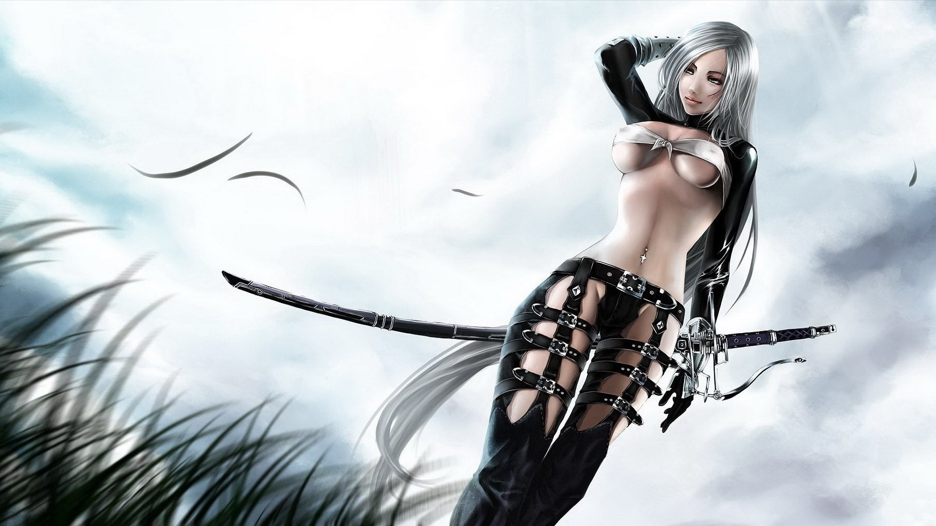 Very Horny Warrior Girl Necai Fuck