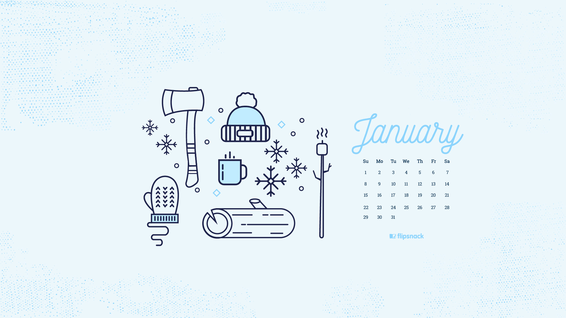 Desktop Wallpapers Calendar December 2018 183 ①