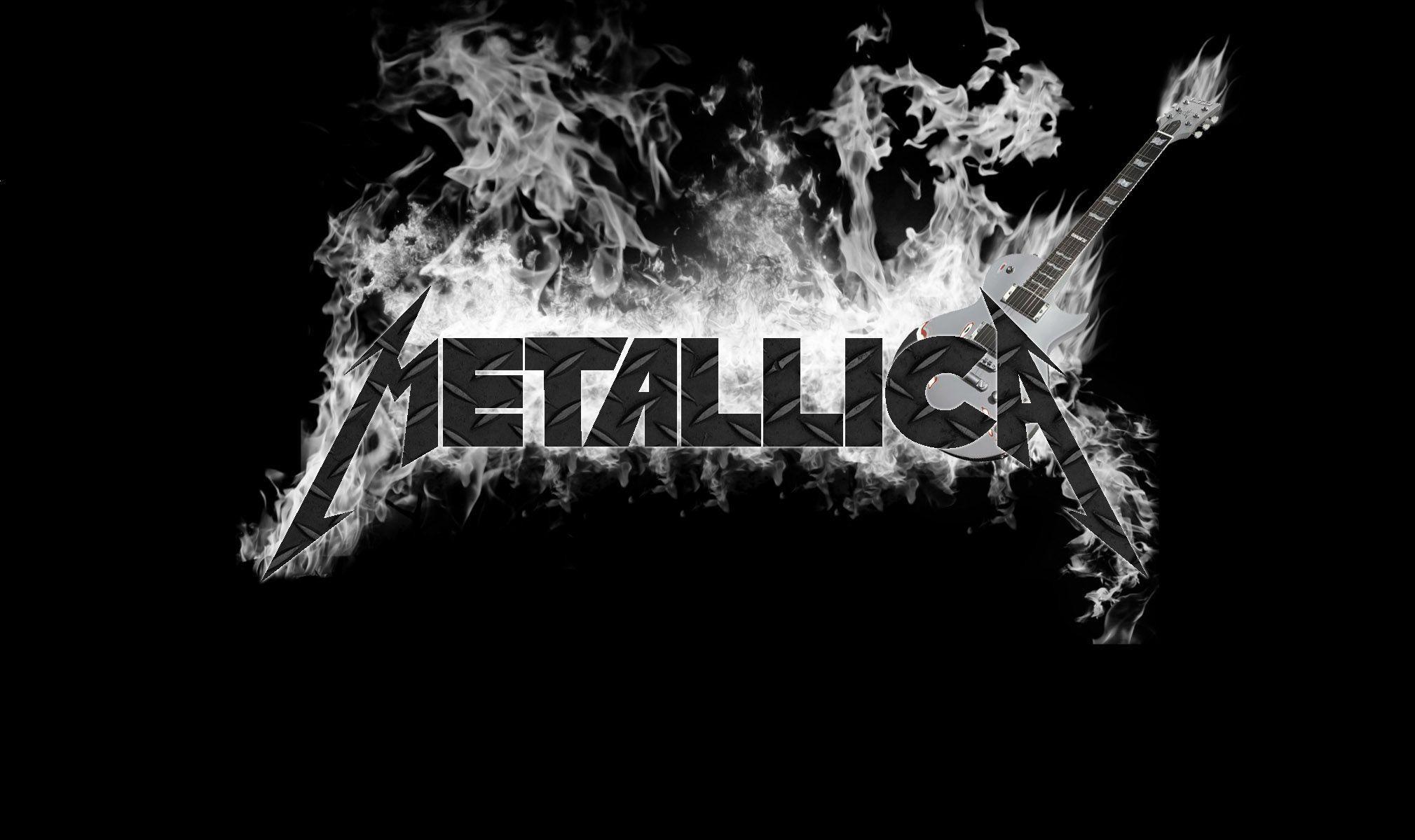 Metallica Logo Wallpaper Wallpapertag