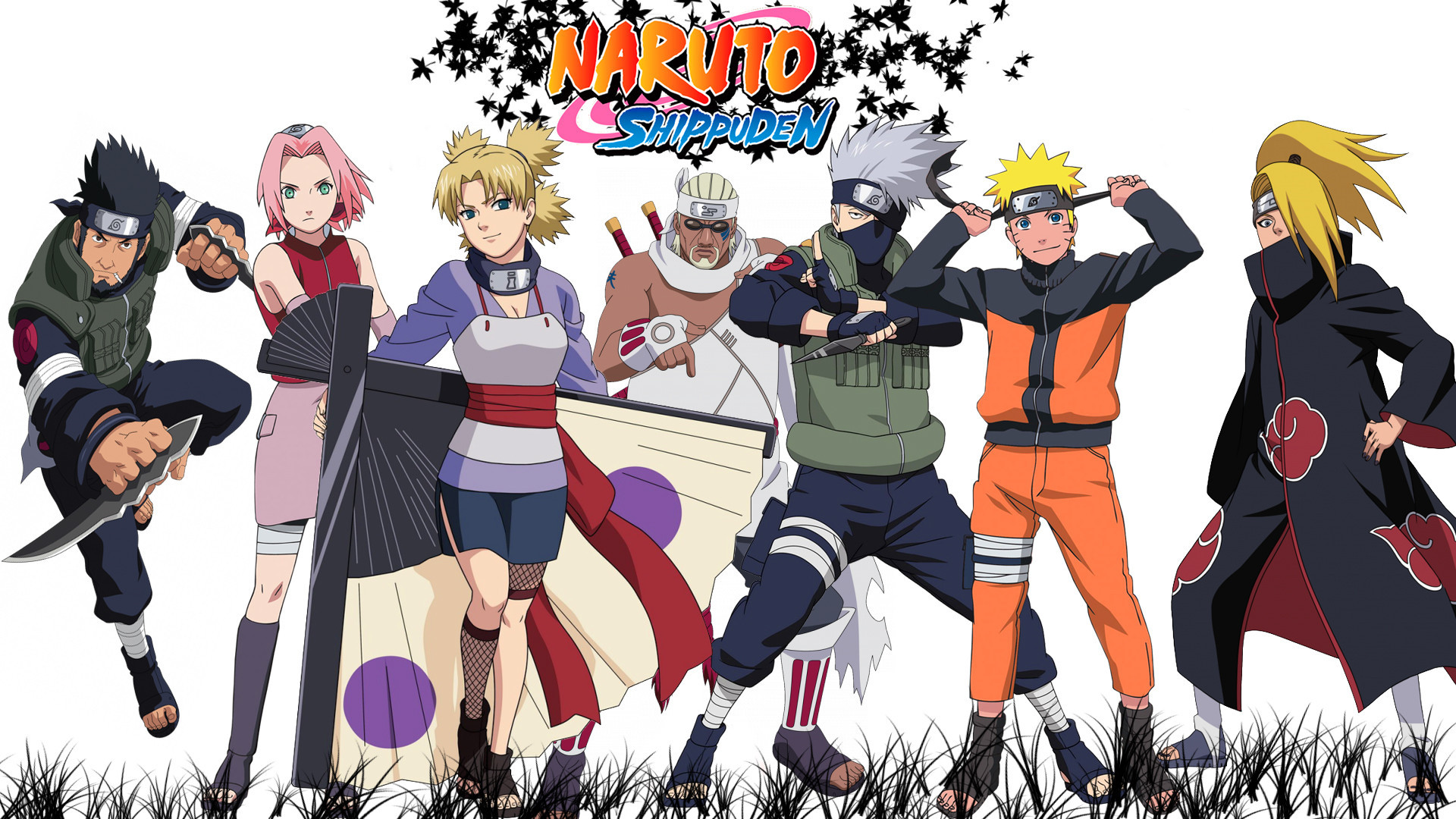 Naruto characters wallpapers 1920x1080 naruto shippuden wallpapers hd 2015 voltagebd Image collections