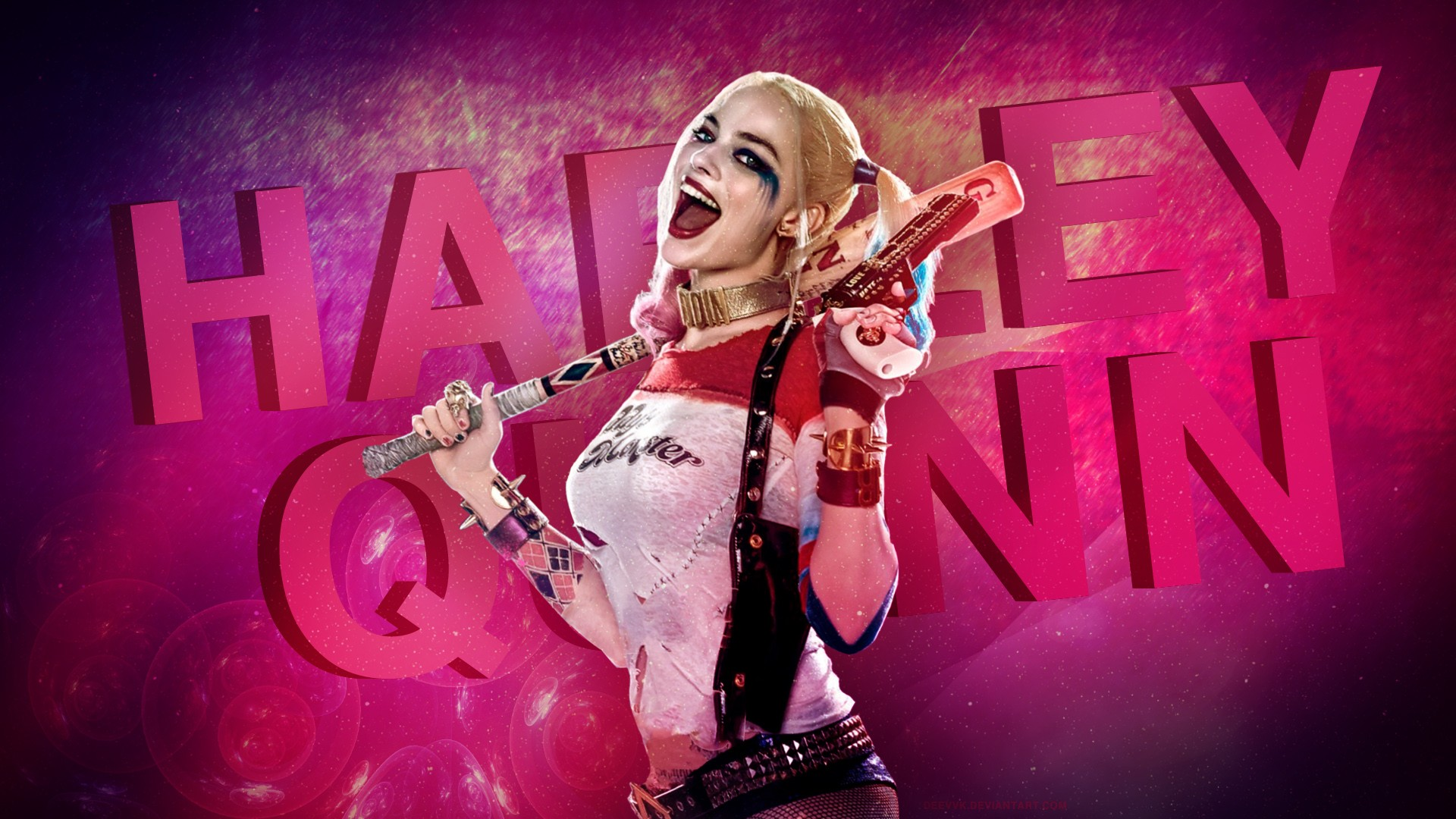 Margot robbie harley quinn wallpaper download free cool - Harley quinn hd wallpapers for android ...