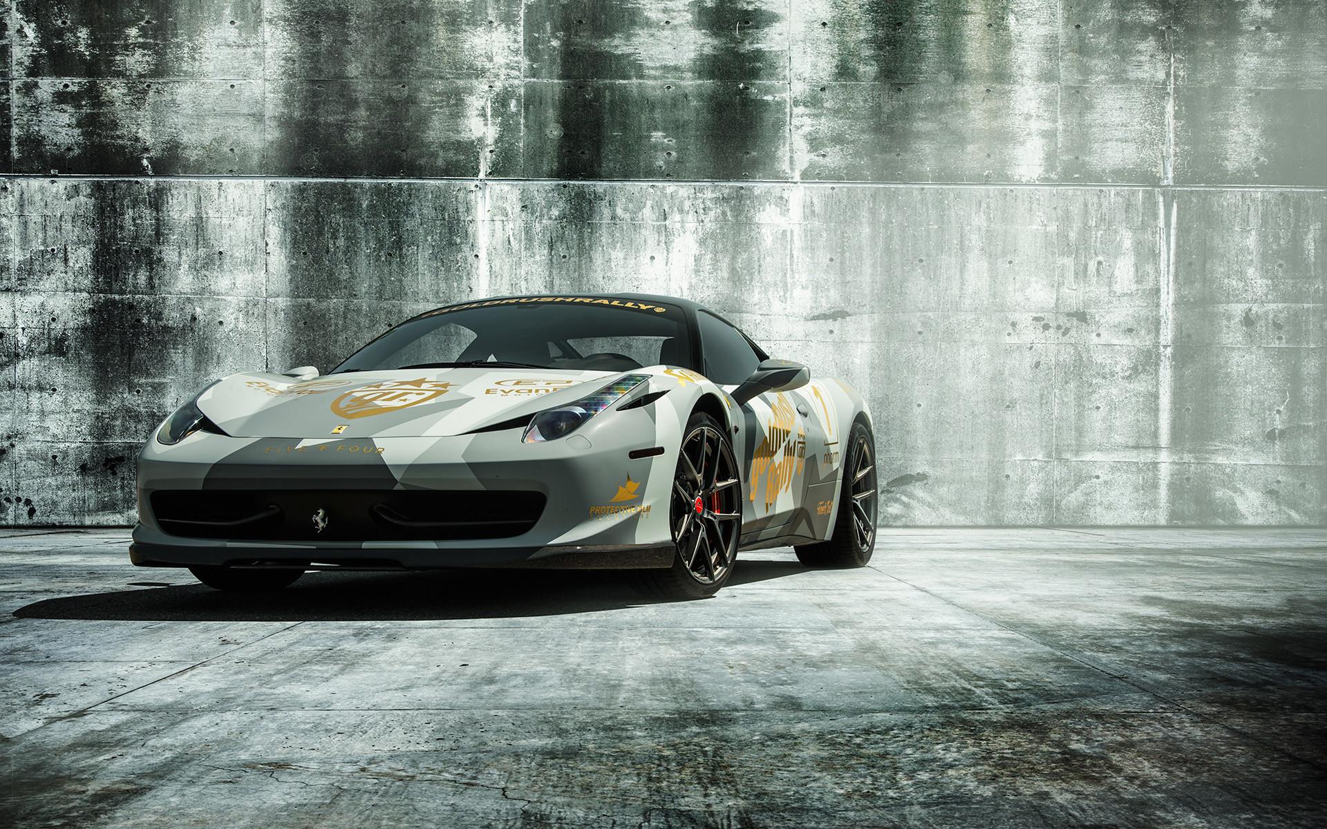 2018 Ferrari 458 Italia Wallpaper 1