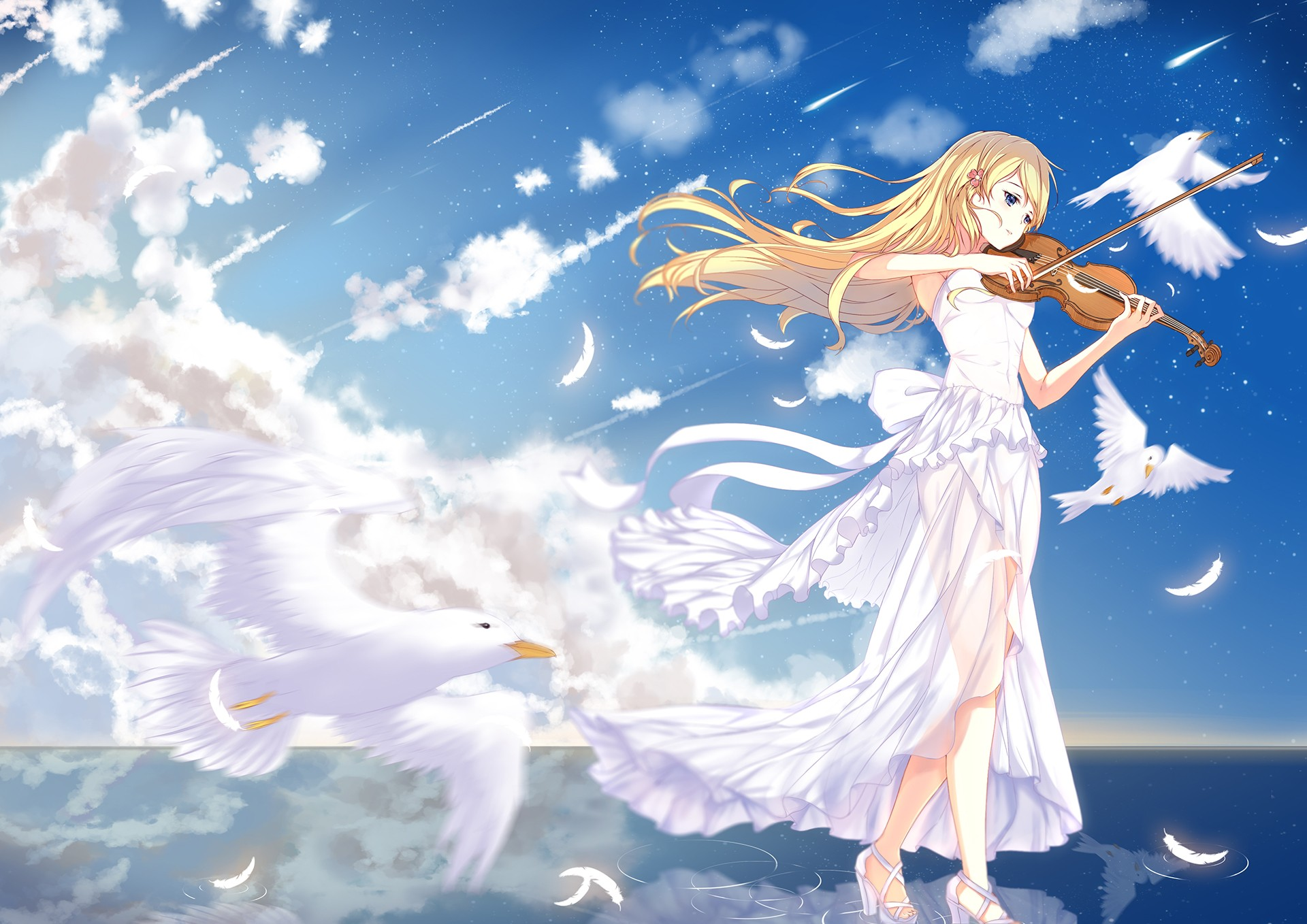 Shigatsu Wa Kimi No Uso Wallpaper Download Free Beautiful Full