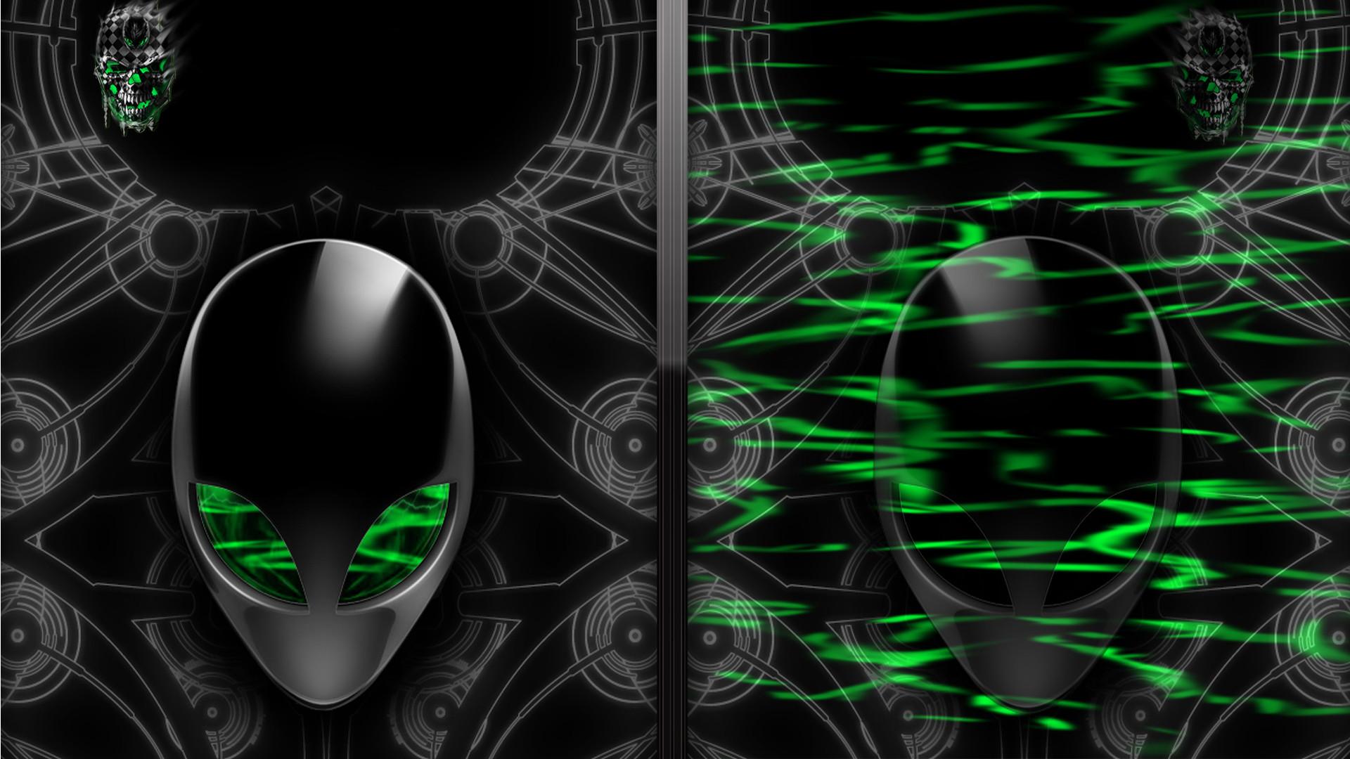 1920x1200 Rainbow Alienware Green by darkangelkrys on DeviantArt