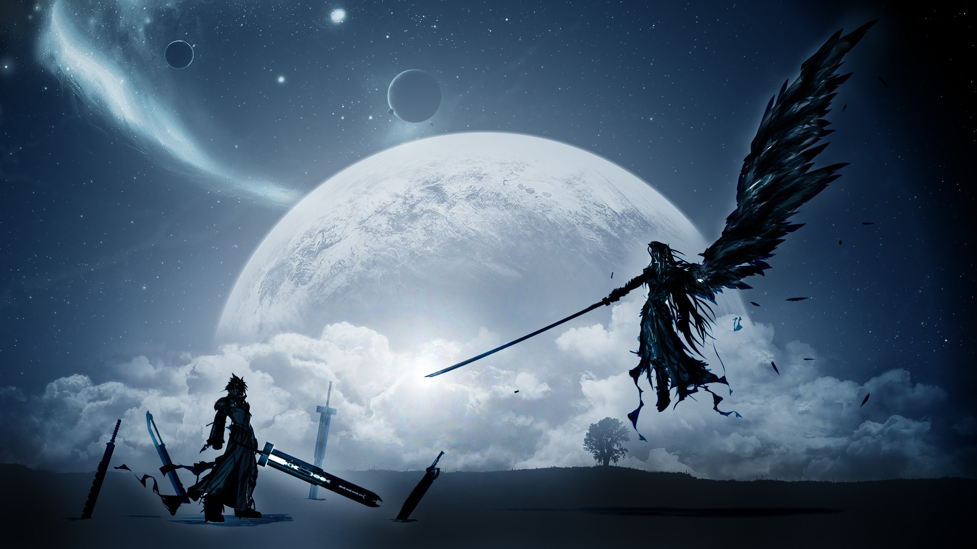 Final Fantasy Sephiroth Wallpaper Wallpapertag