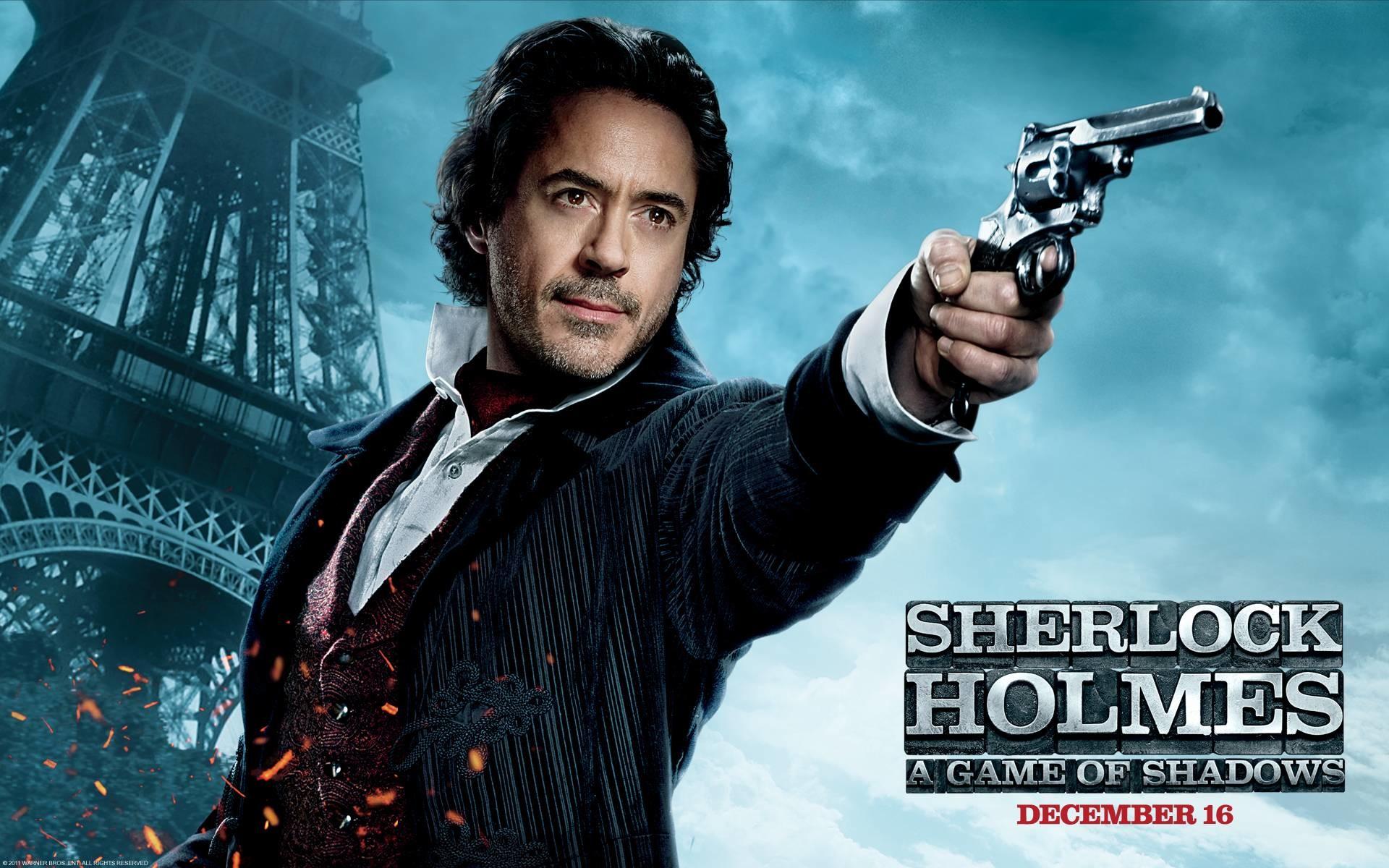 Robert Downey Jr Sherlock Holmes Wallpaper ①