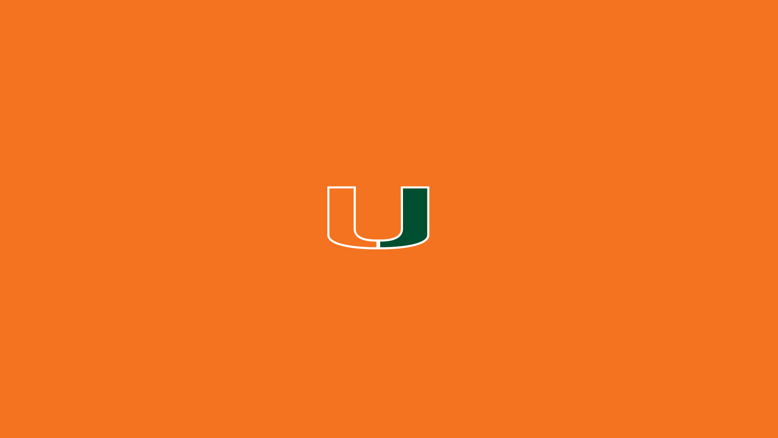 University Of Miami Hurricanes >> University of Miami Wallpaper ·①