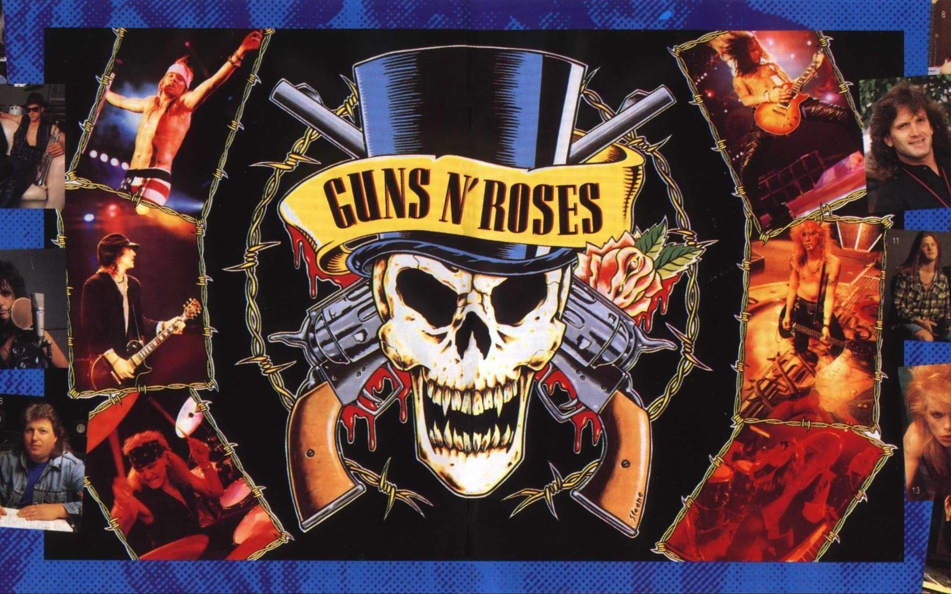 Guns N Roses Logo Wallpaper Wallpapertag