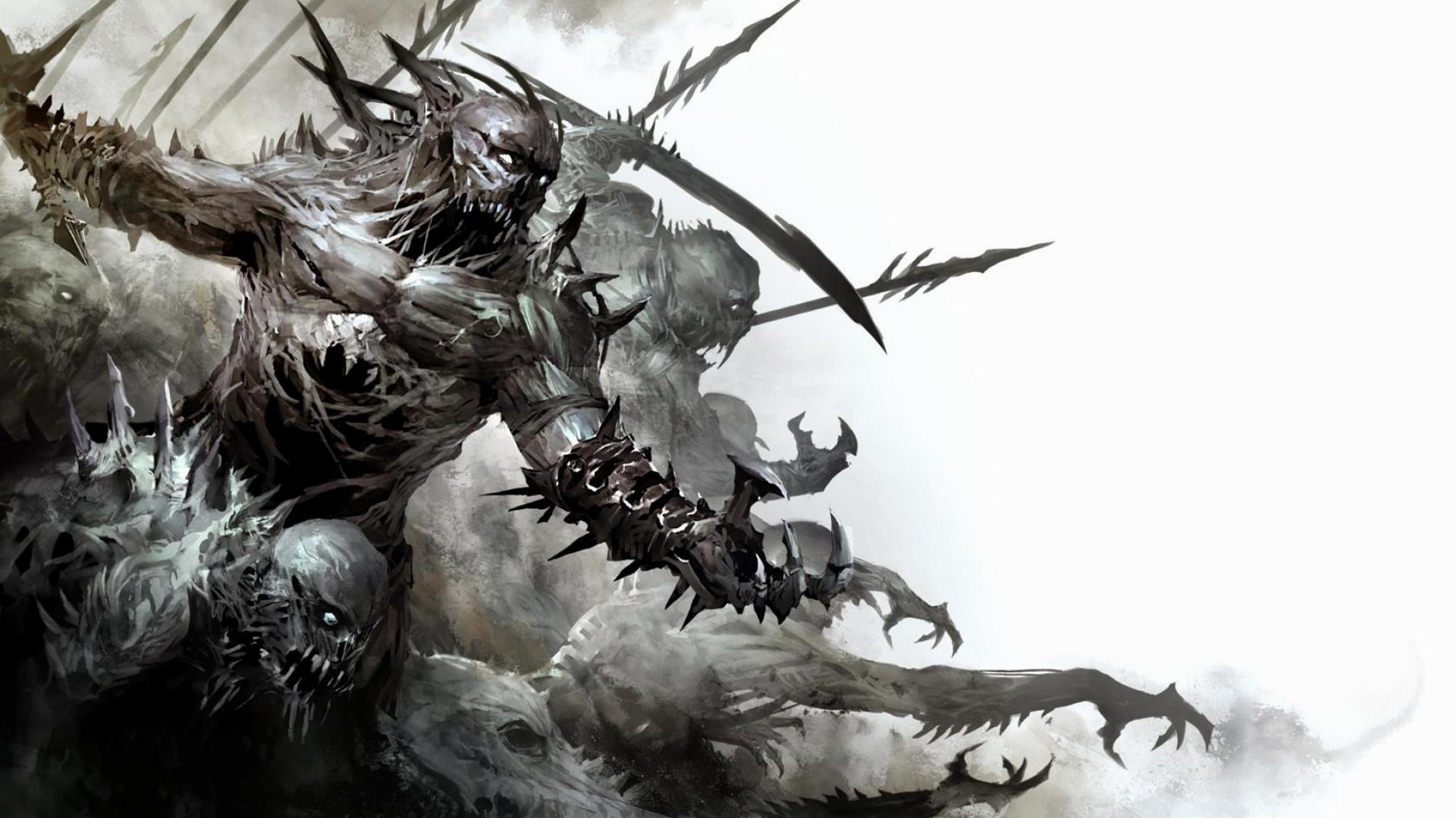 Demons wallpaper wallpapertag - Demon wallpaper 4k ...