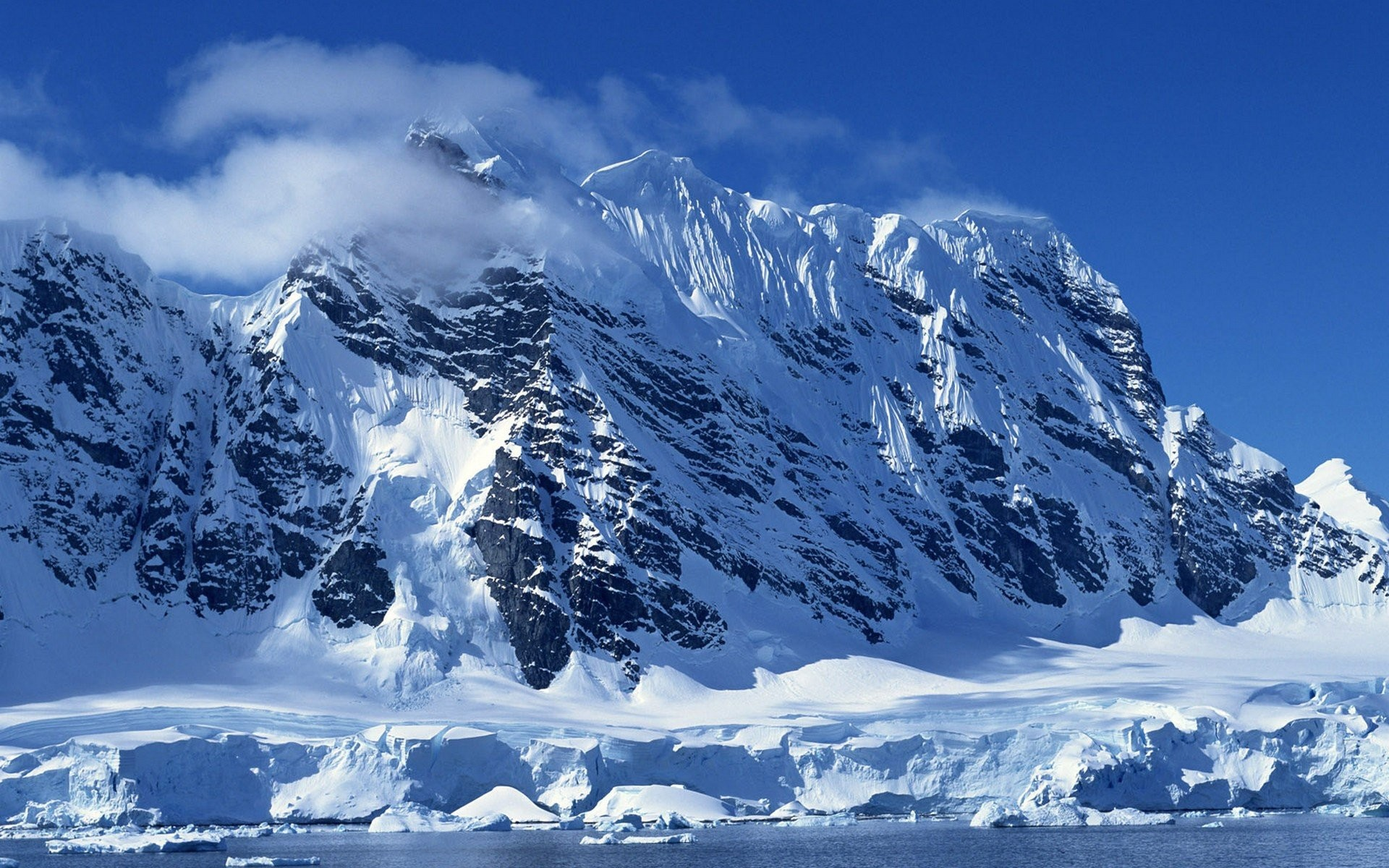 Snowy Background With Mountain: Mountain Background Images ·① WallpaperTag
