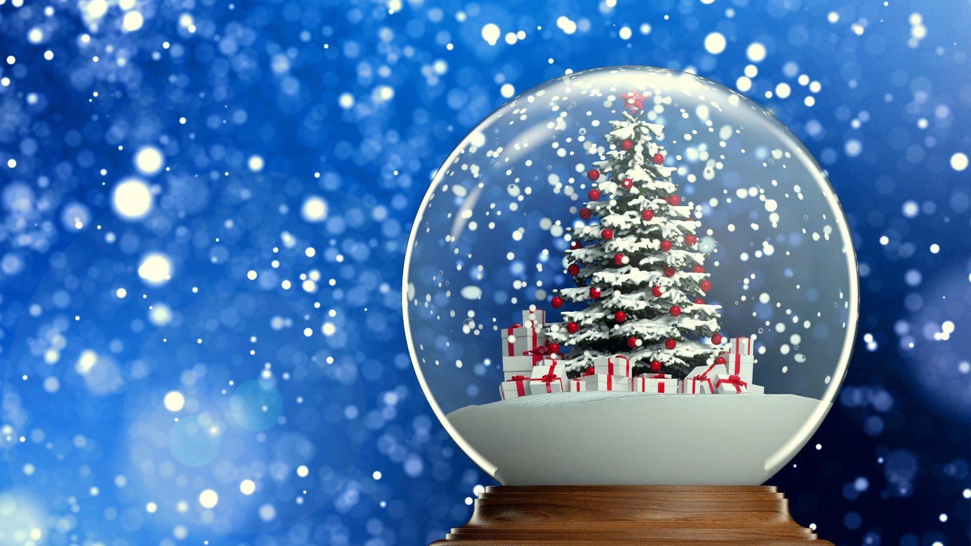 Christmas Snow Wallpaper ·①