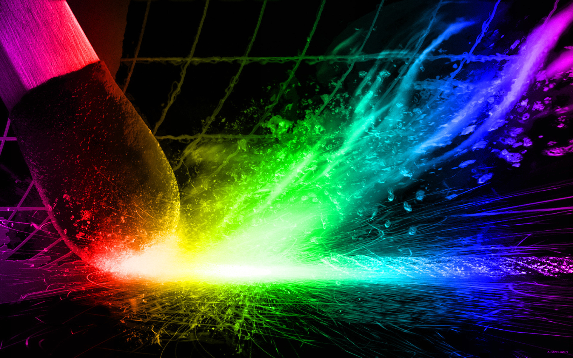 Neon Rainbow Background Designs ·① WallpaperTag