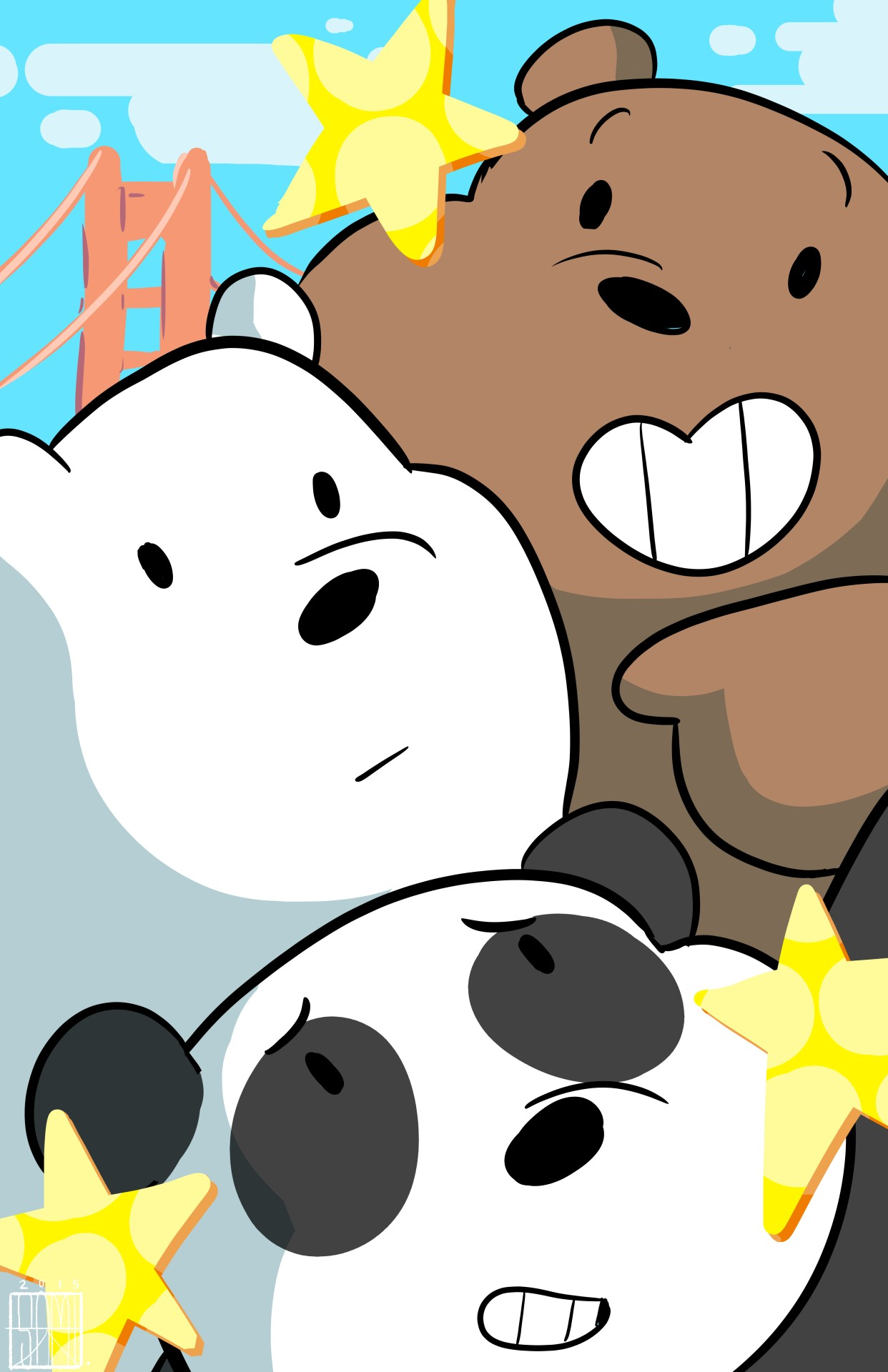 we bare bears wallpaper download free cool wallpapers for