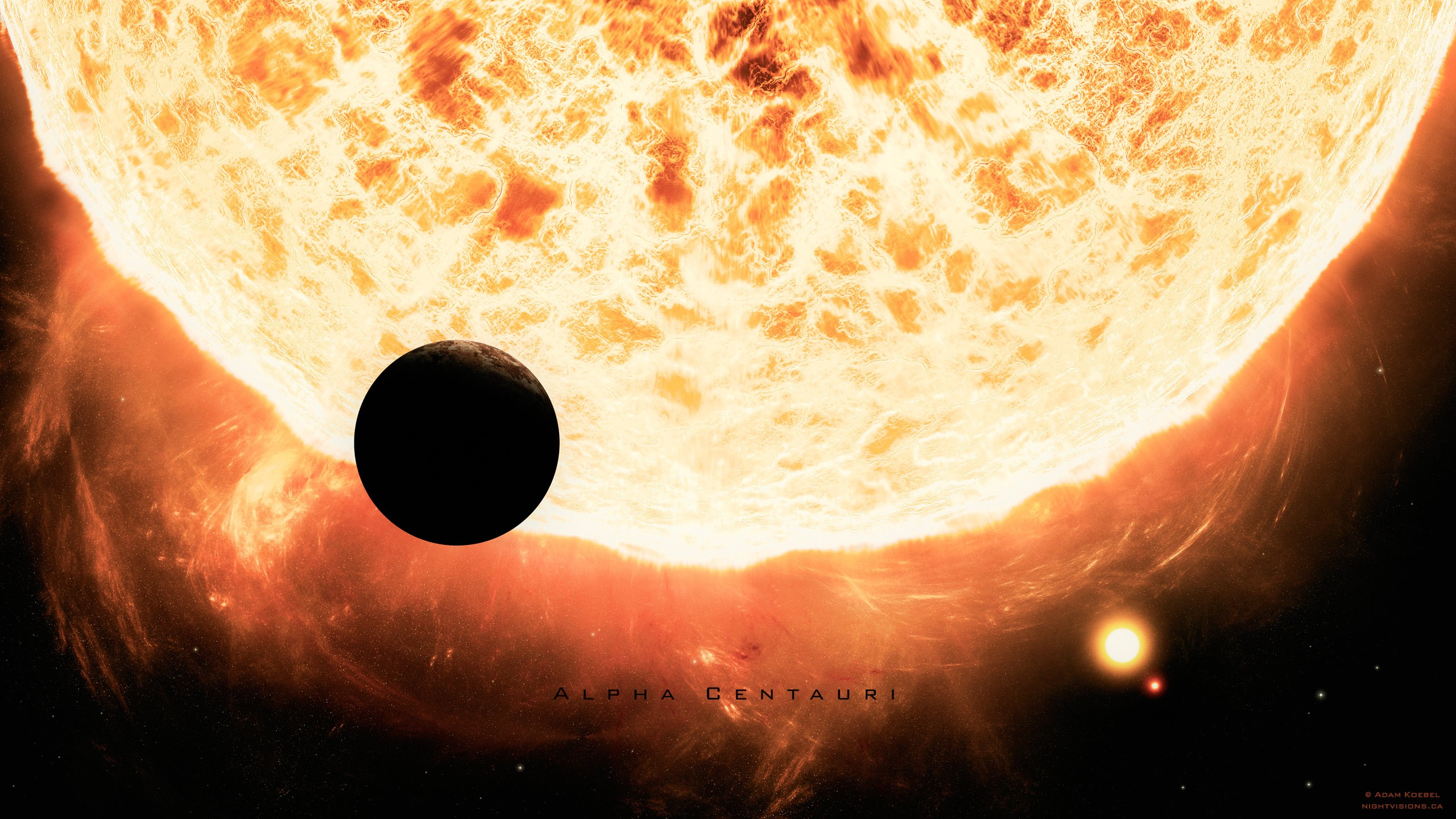 alpha centauri planets - HD2560×1440