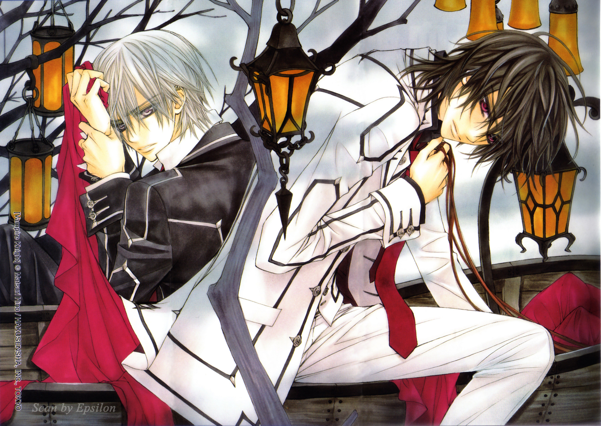vampire knight wallpaper ·①
