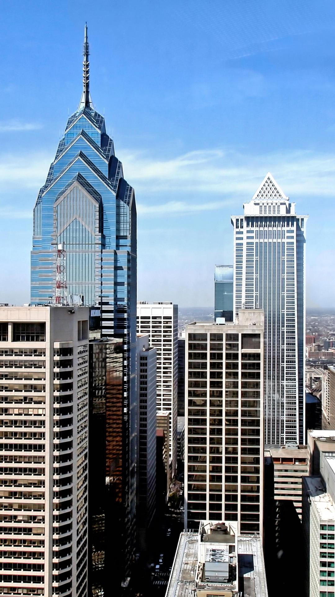 Philadelphia Skyline Wallpaper ·①